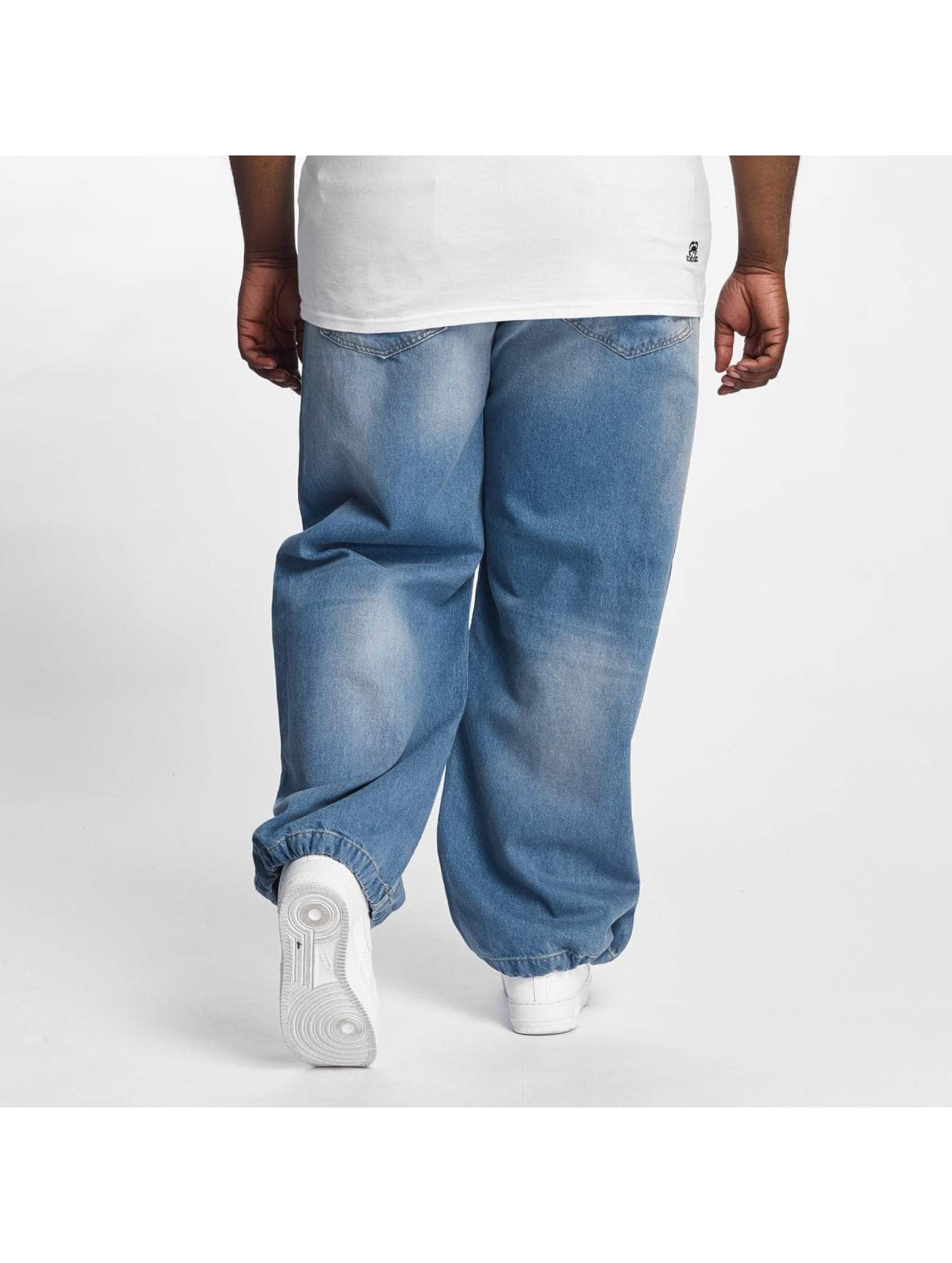 Ecko Unltd. Nohavice Baggy Fat Bro modrá