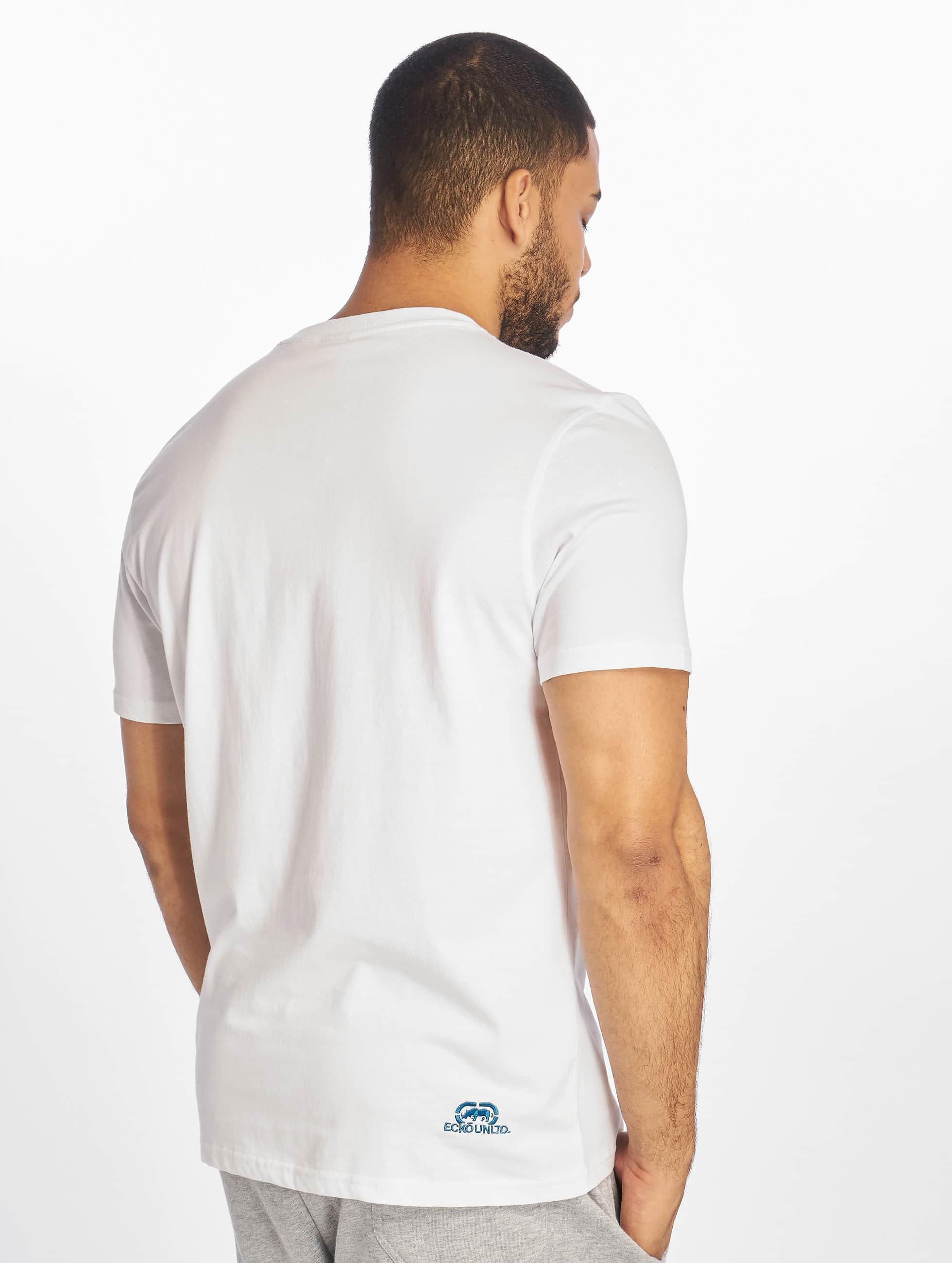 Ecko Unltd. T-paidat John Rhino valkoinen