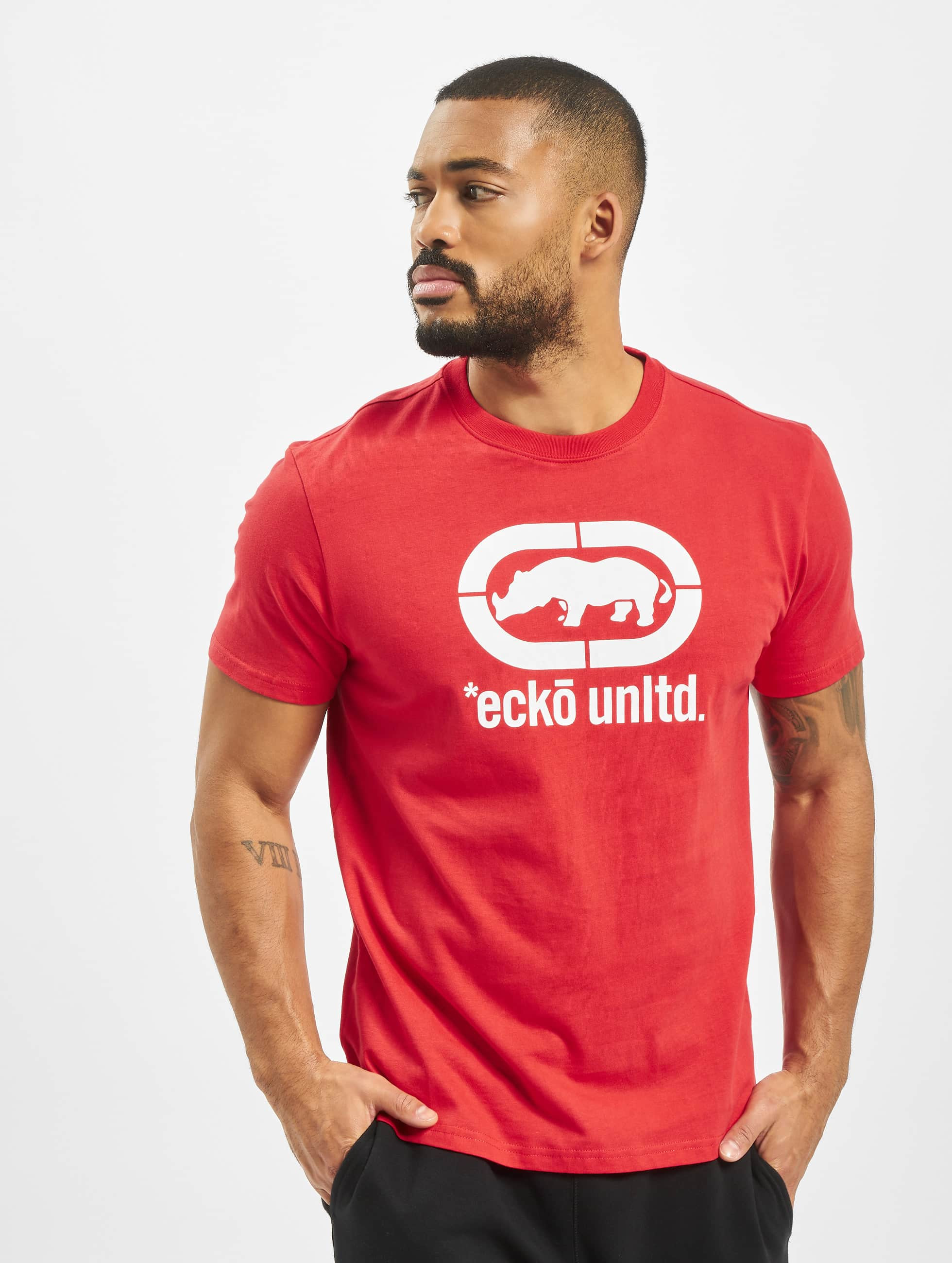 Ecko Unltd. T-shirt John Rhino röd