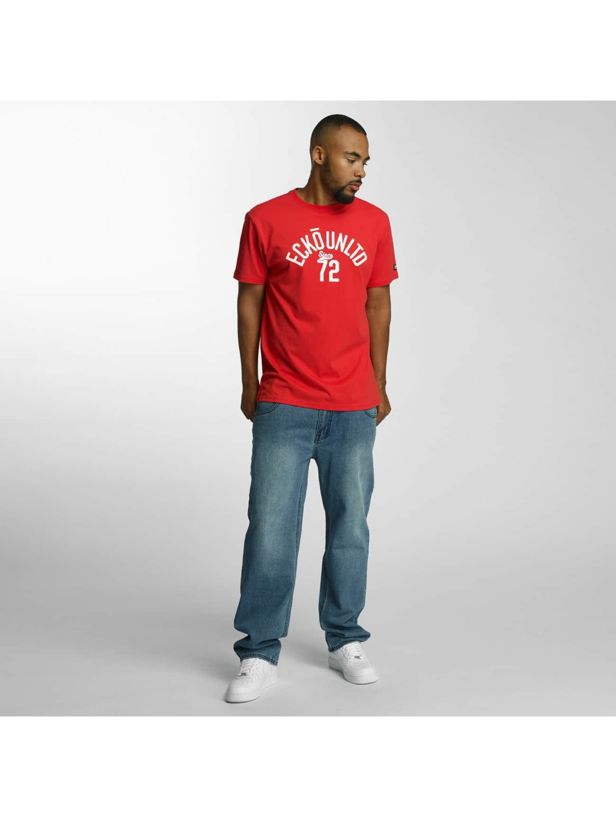 Ecko Unltd. T-shirt Bobby Basic rosso
