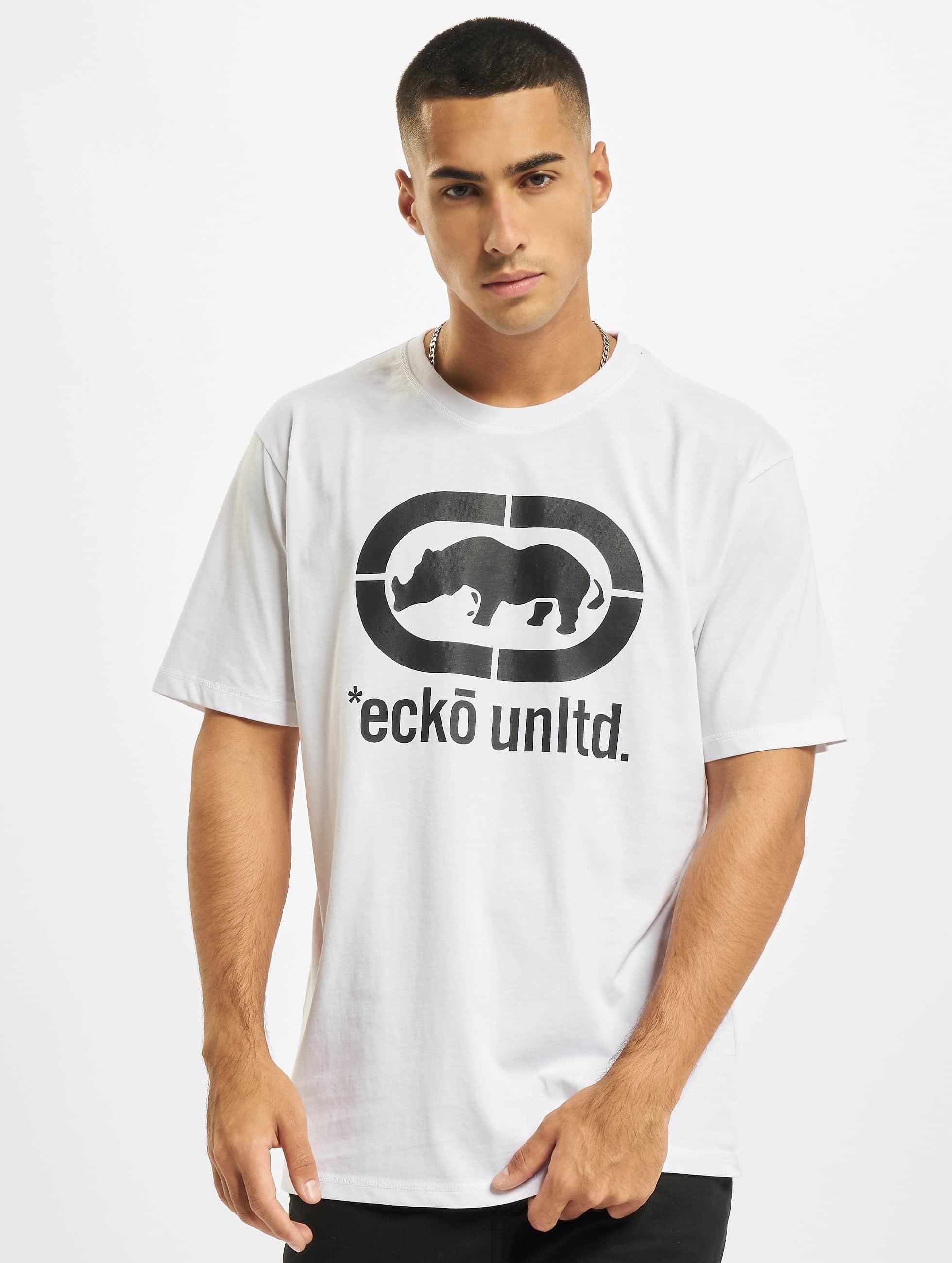 Ecko Unltd. Tričká John Rhino biela