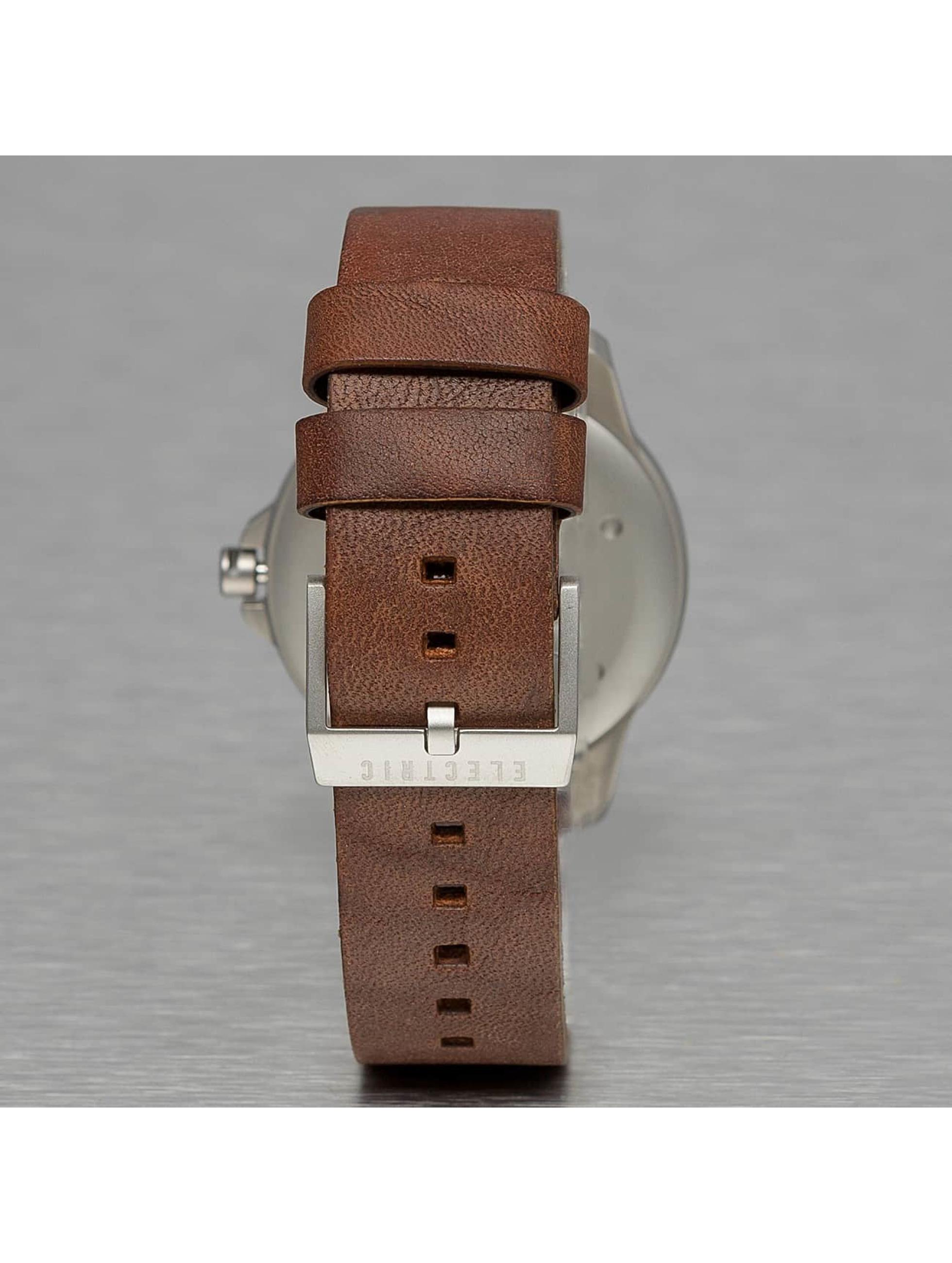 Electric Часы CARROWAY коричневый