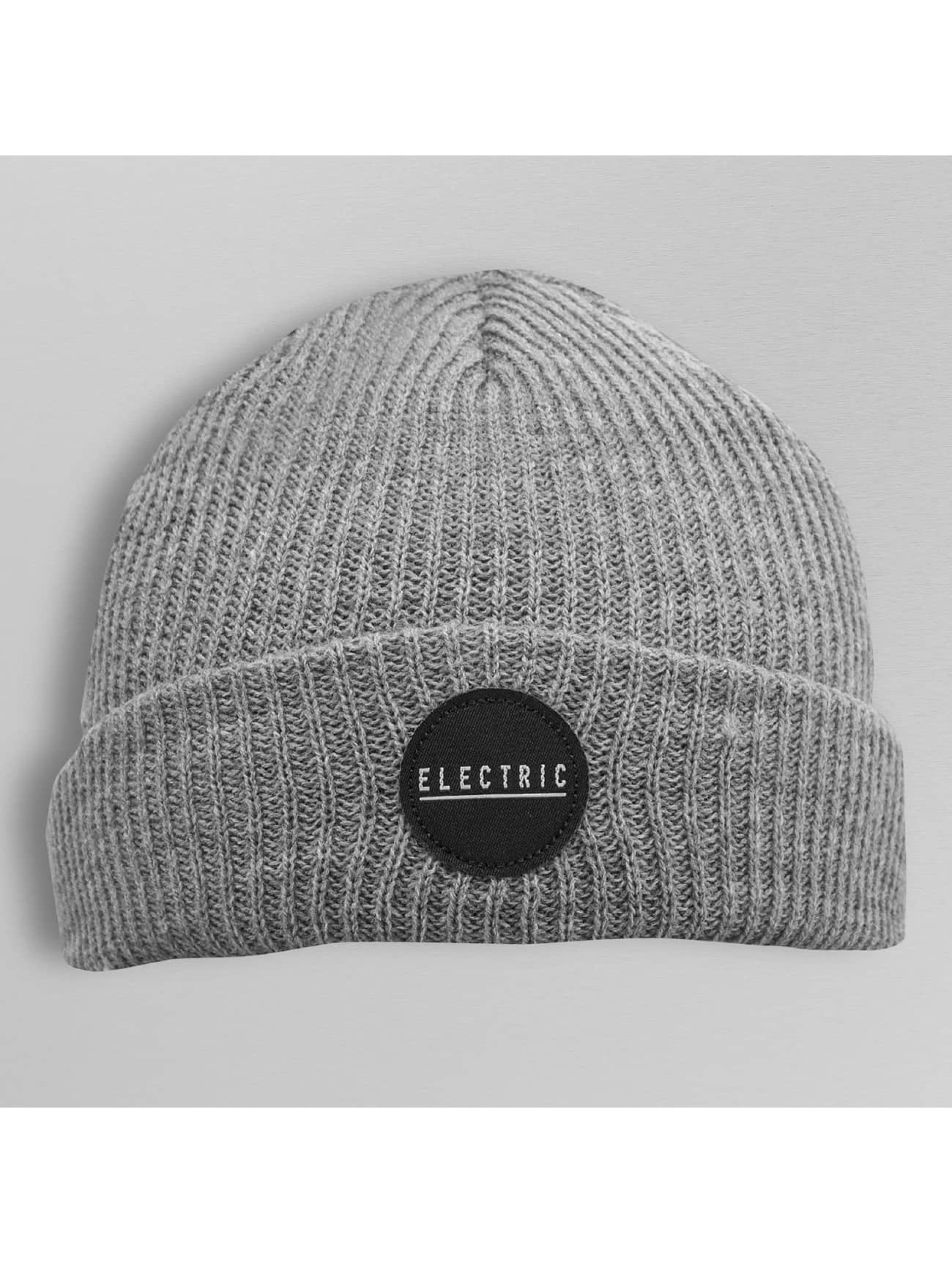 Electric Beanie RUBBER STAMP grey