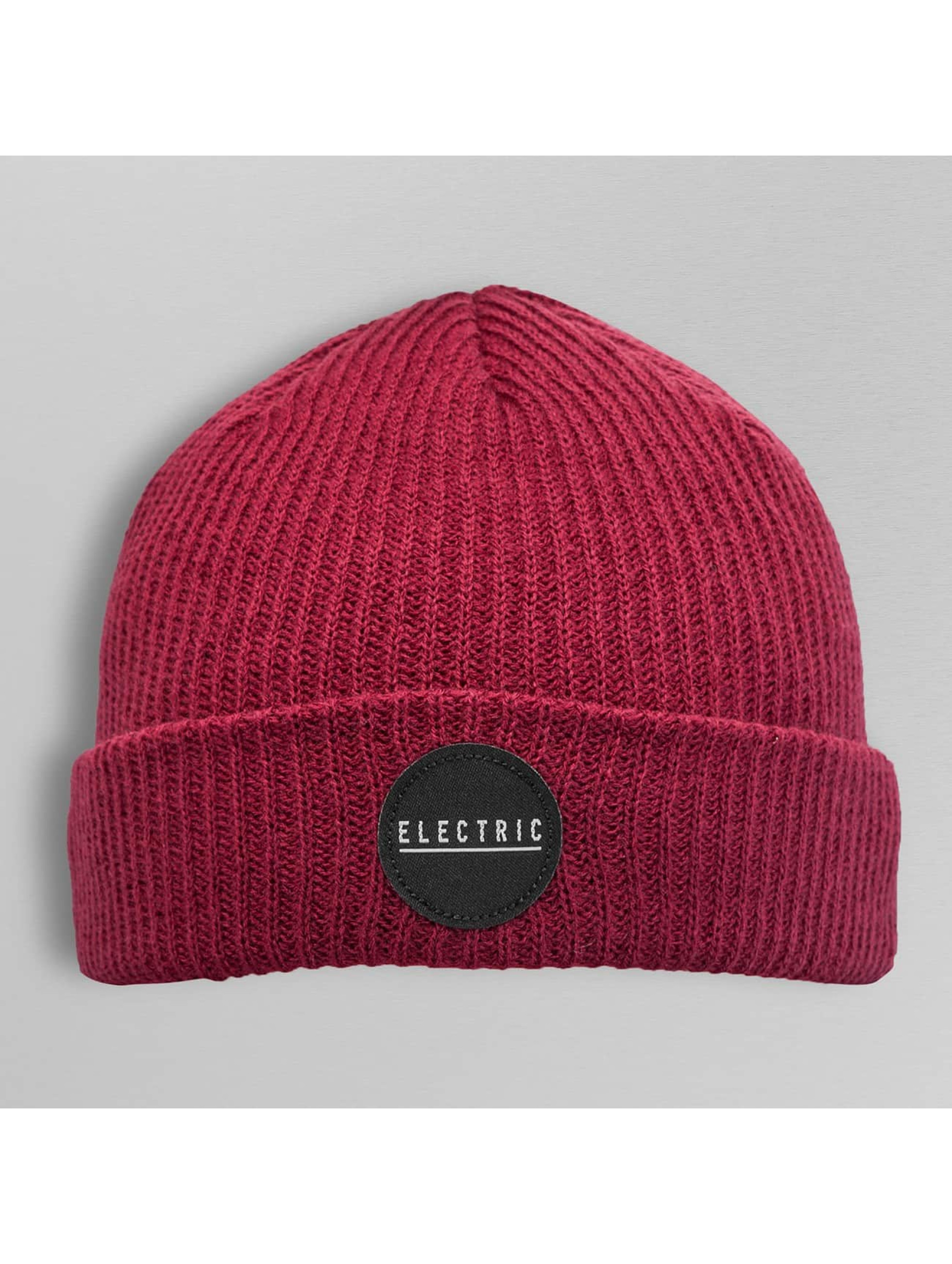 Electric Beanie RUBBER STAMP rot