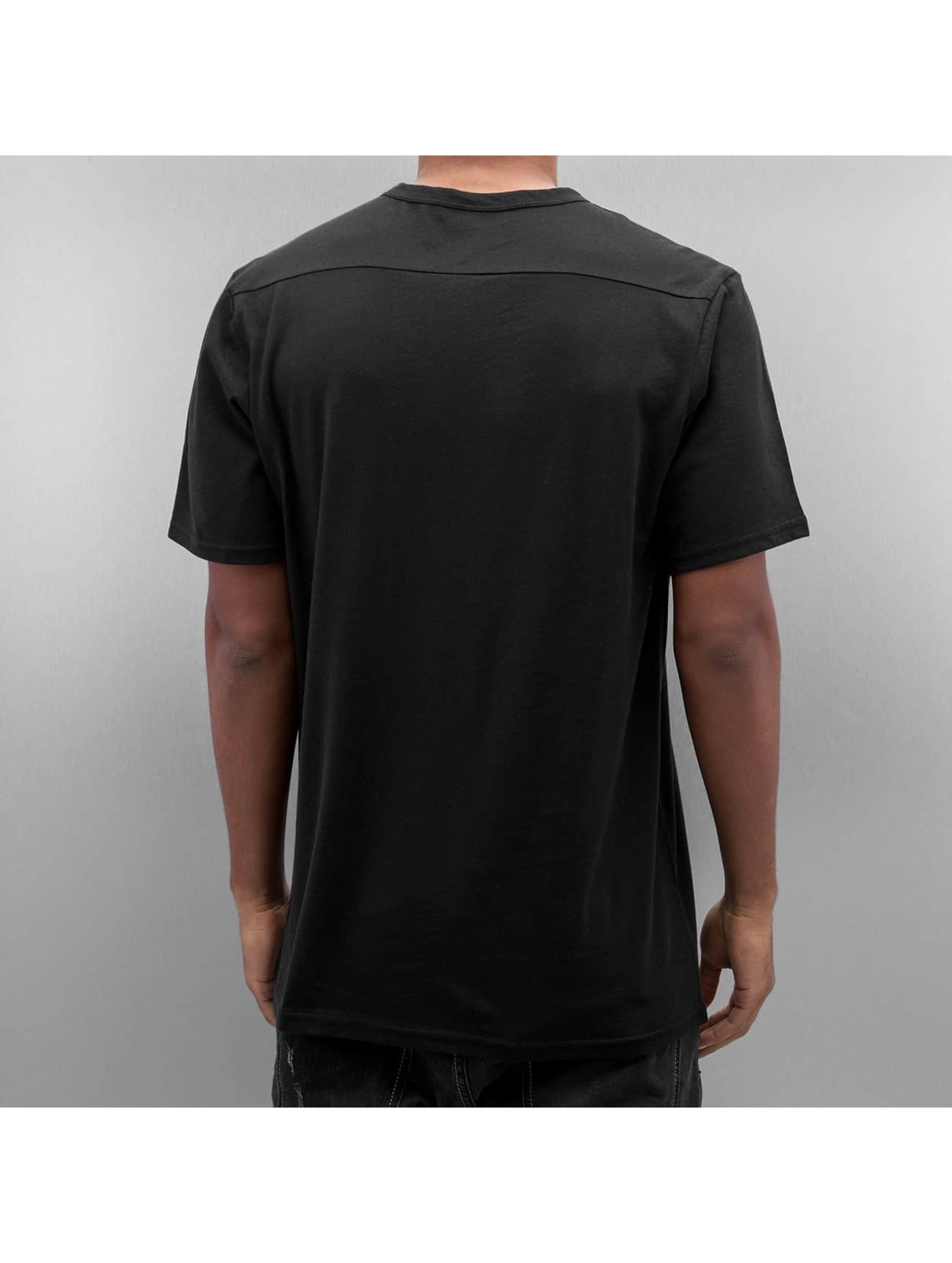 Electric Camiseta STIPPLED negro