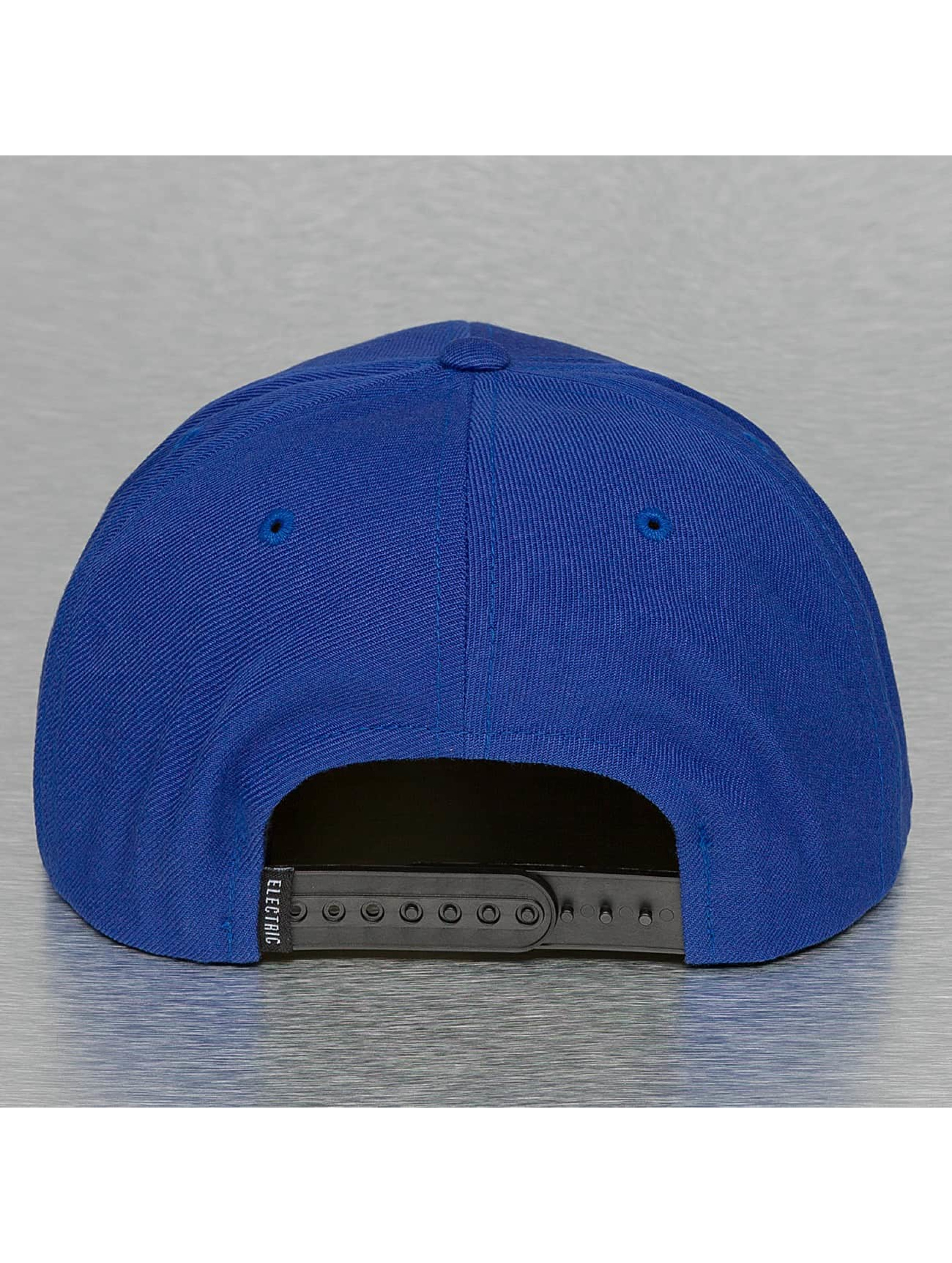 Electric Casquette Snapback & Strapback VOLT bleu