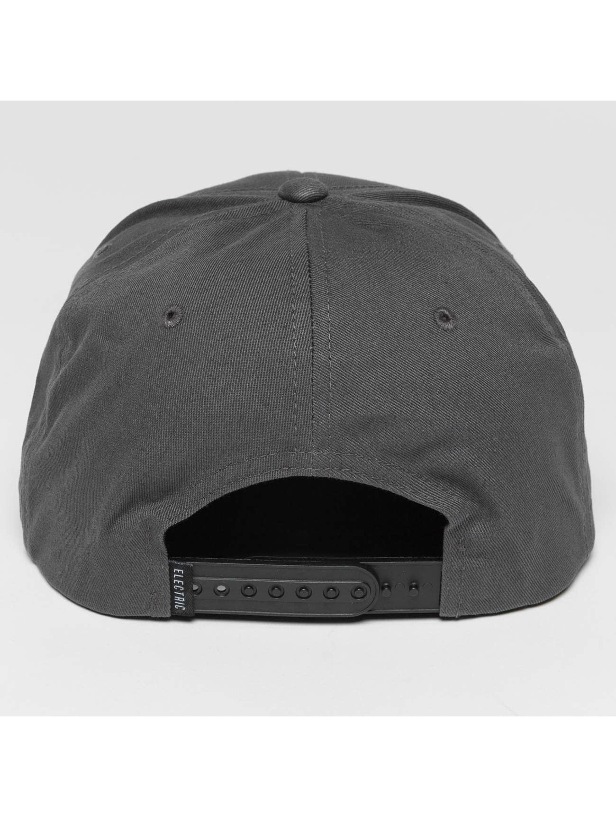 Electric Casquette Snapback & Strapback Voltage gris