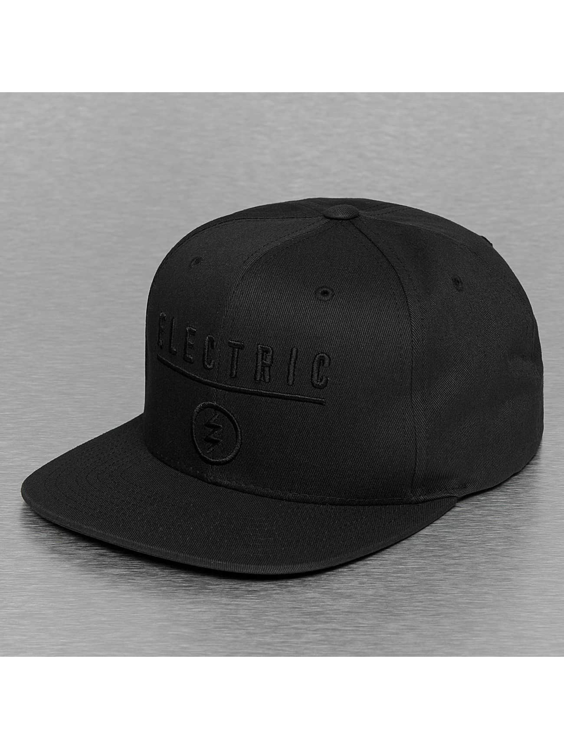 Electric Casquette Snapback & Strapback IDENTITY CORP noir