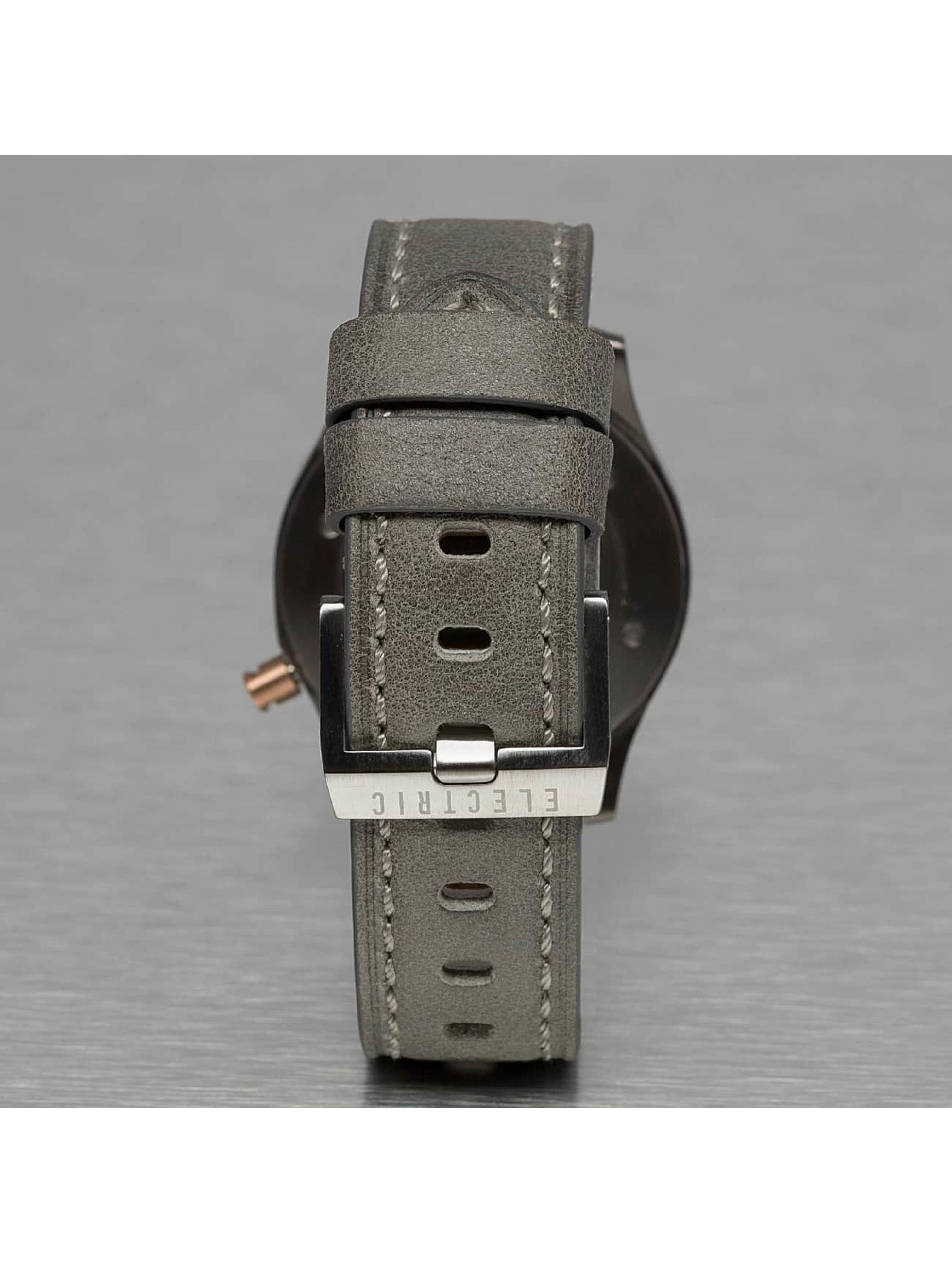 Electric Hodinky FW03 Leather šedá