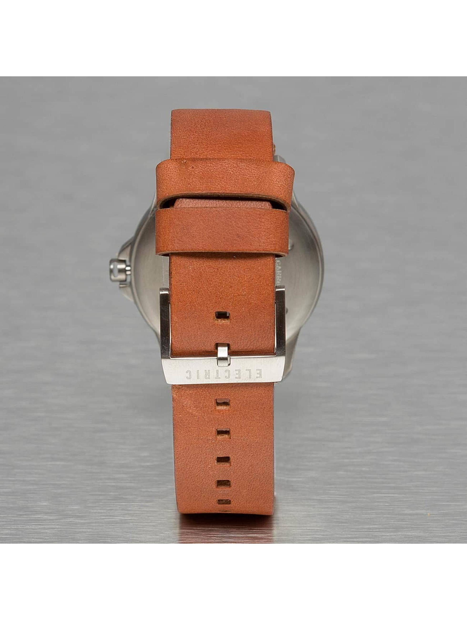 Electric horloge CARROWAY beige