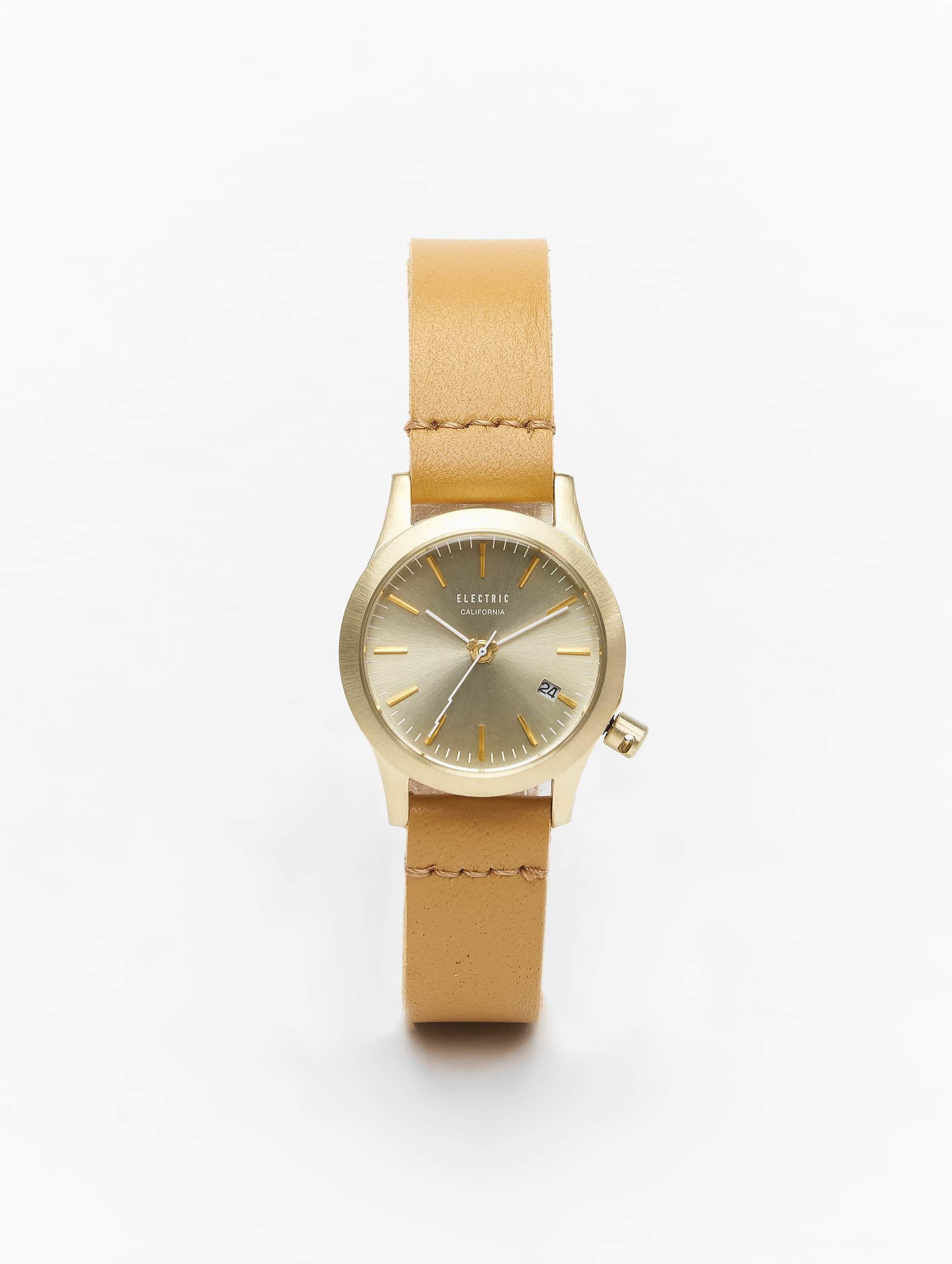 Electric horloge FW03 MINI bruin