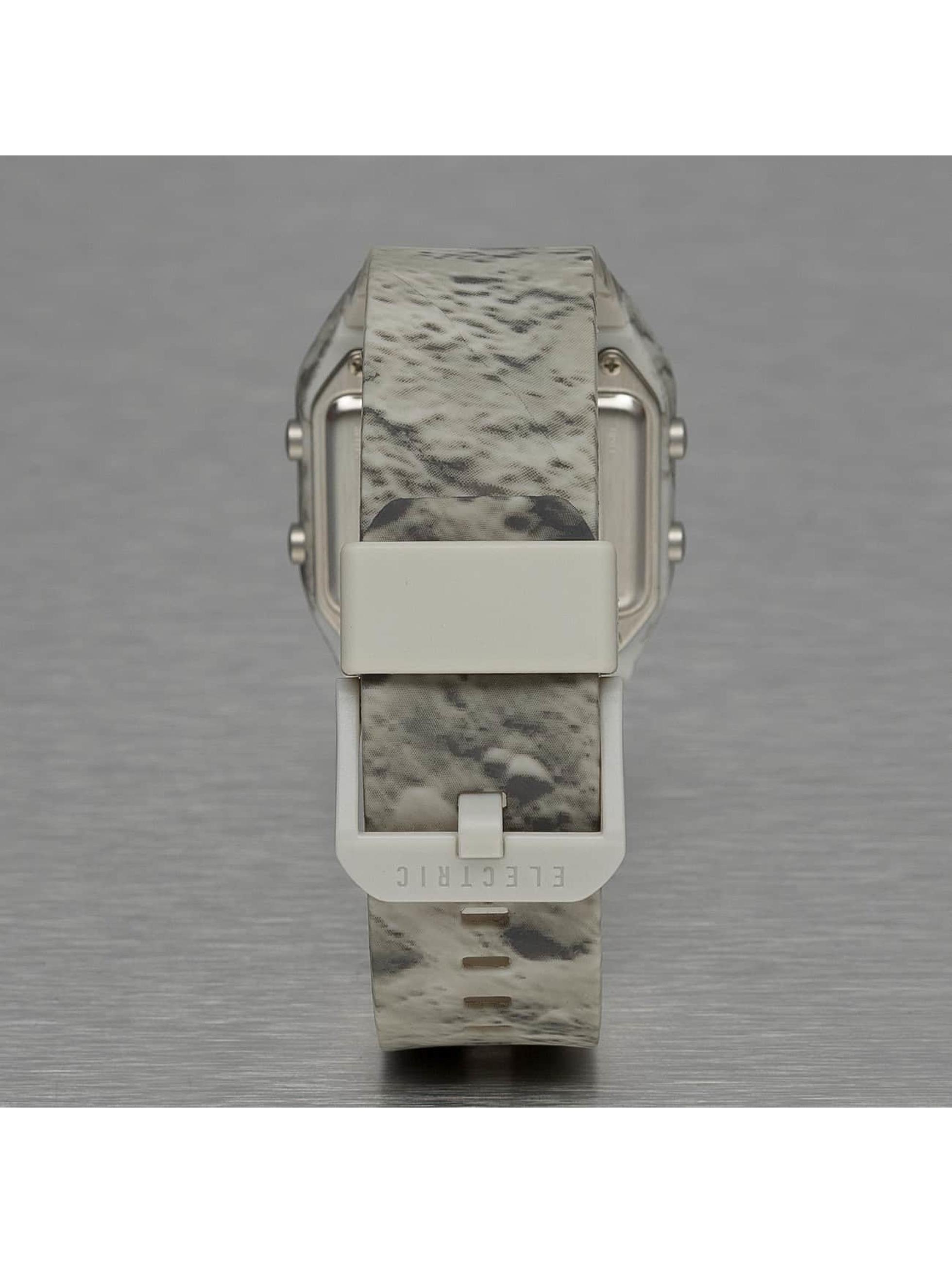 Electric horloge ED01 PU grijs