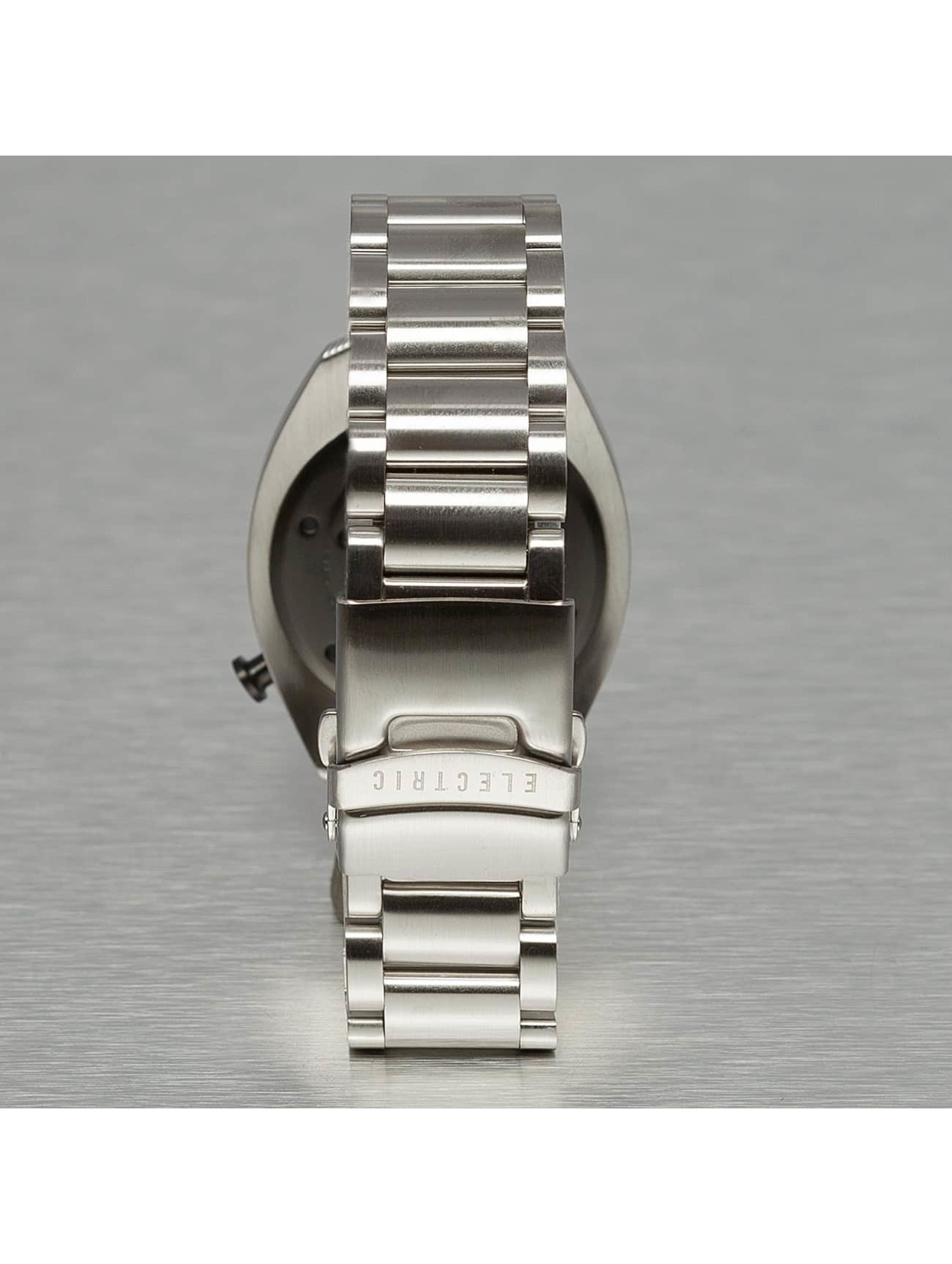 Electric horloge OW01 Stainless Steel grijs