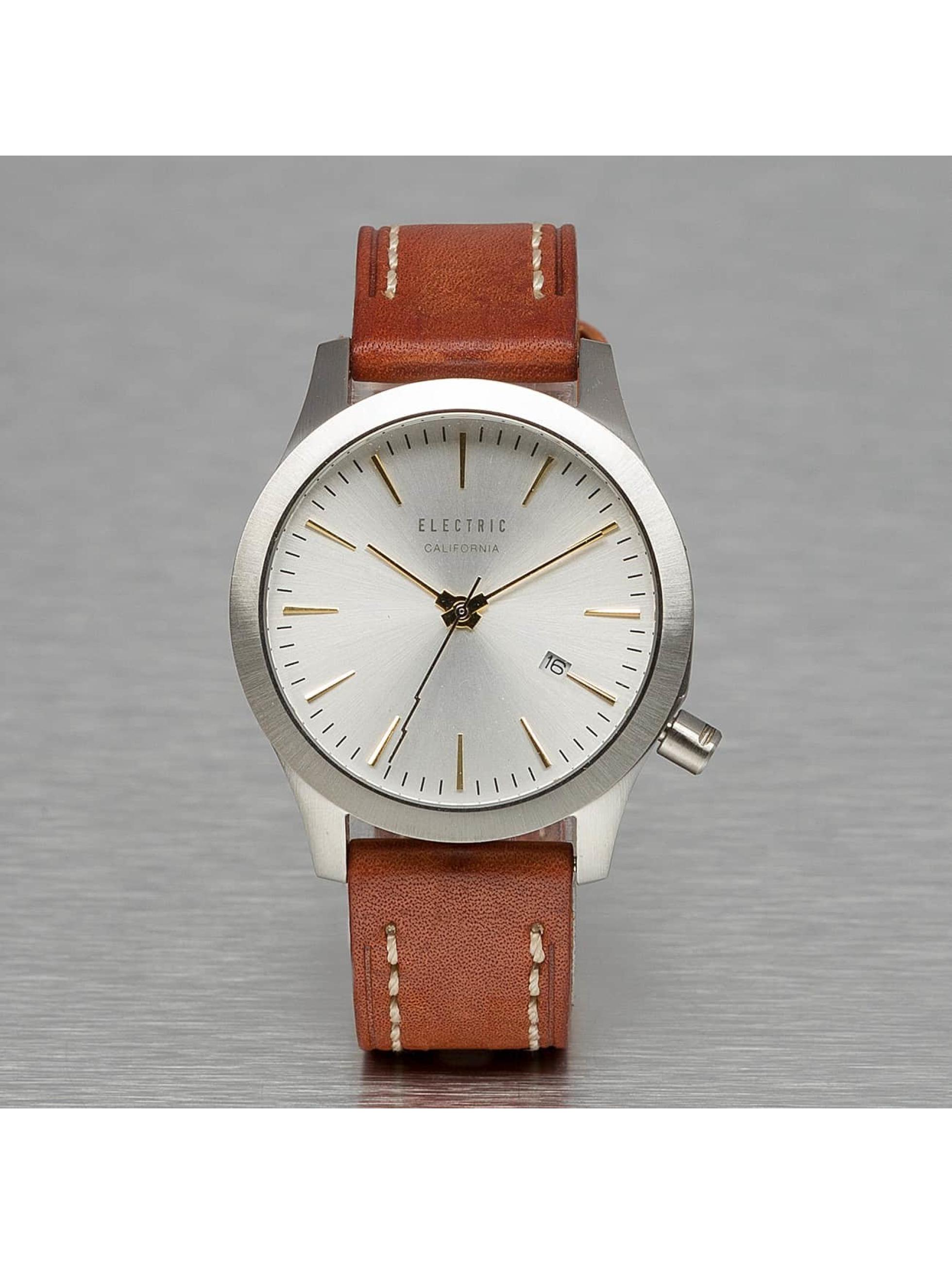 Electric Reloj FW03 Leather marrón
