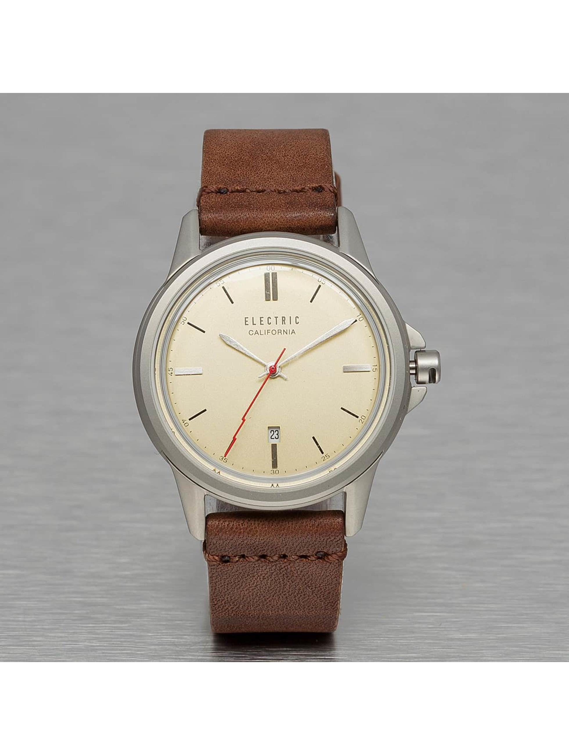 Electric Reloj CARROWAY marrón
