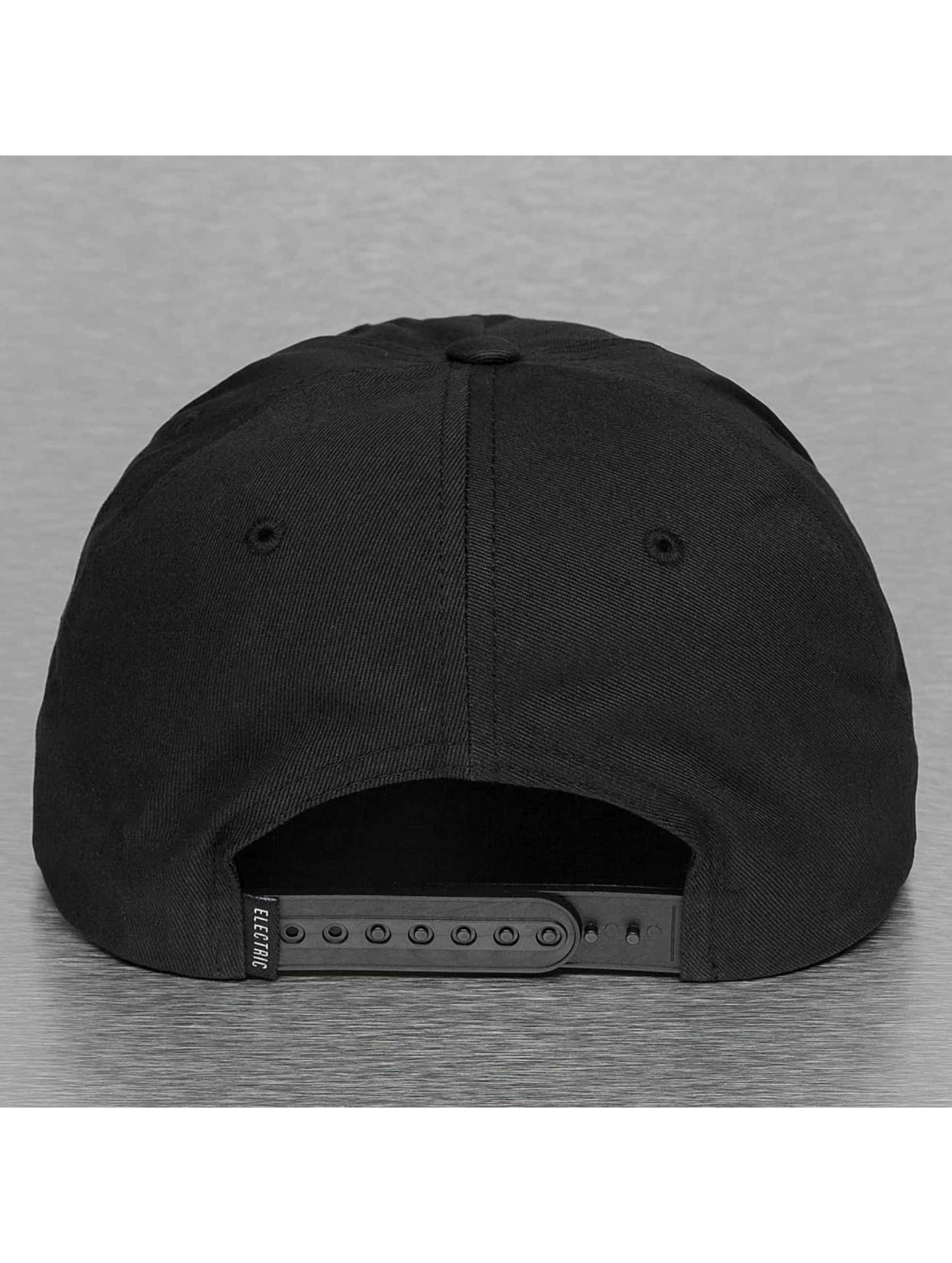 Electric Snapback Cap NEW UNIFORM black