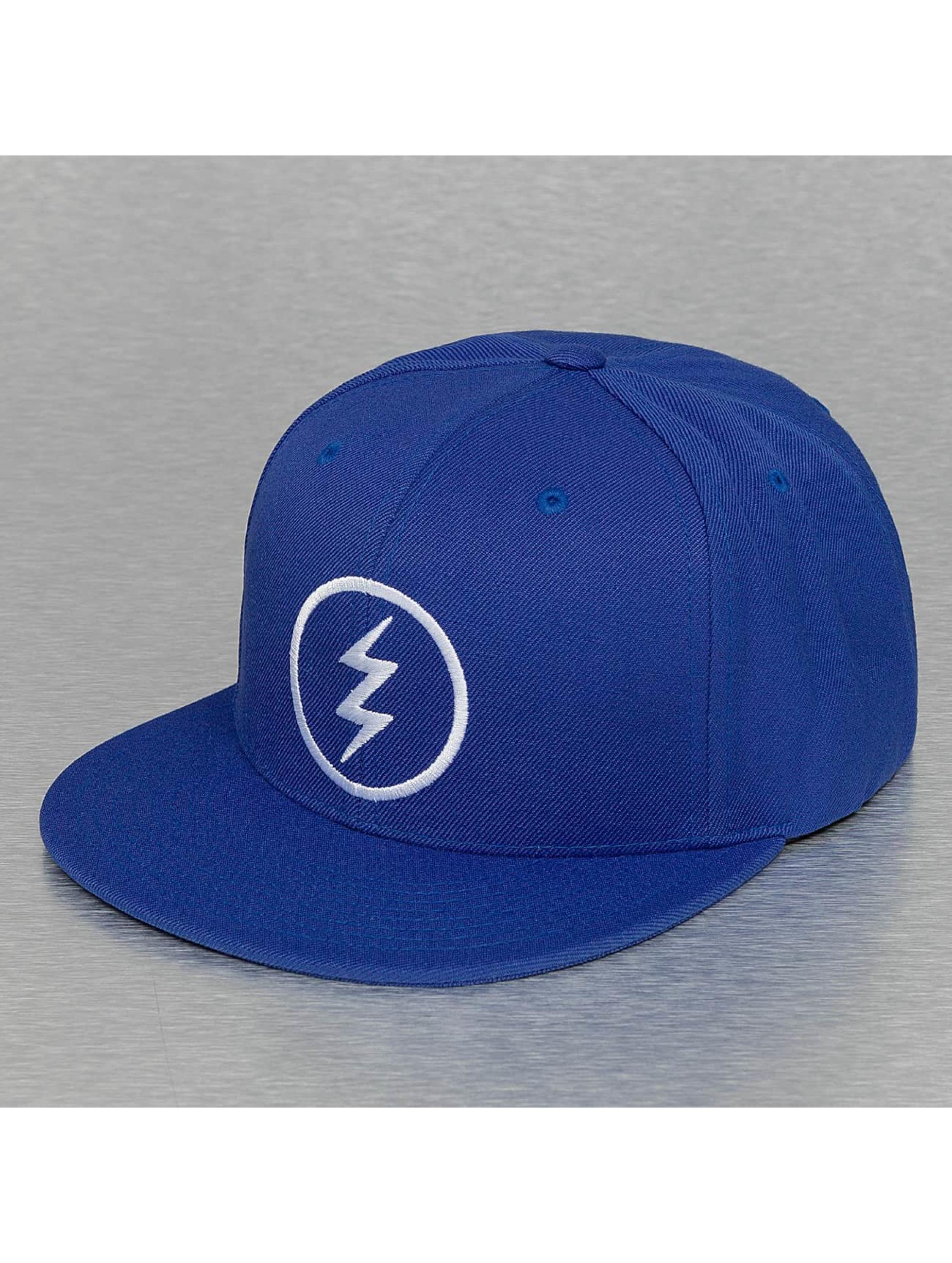 Electric Snapback Cap VOLT blu