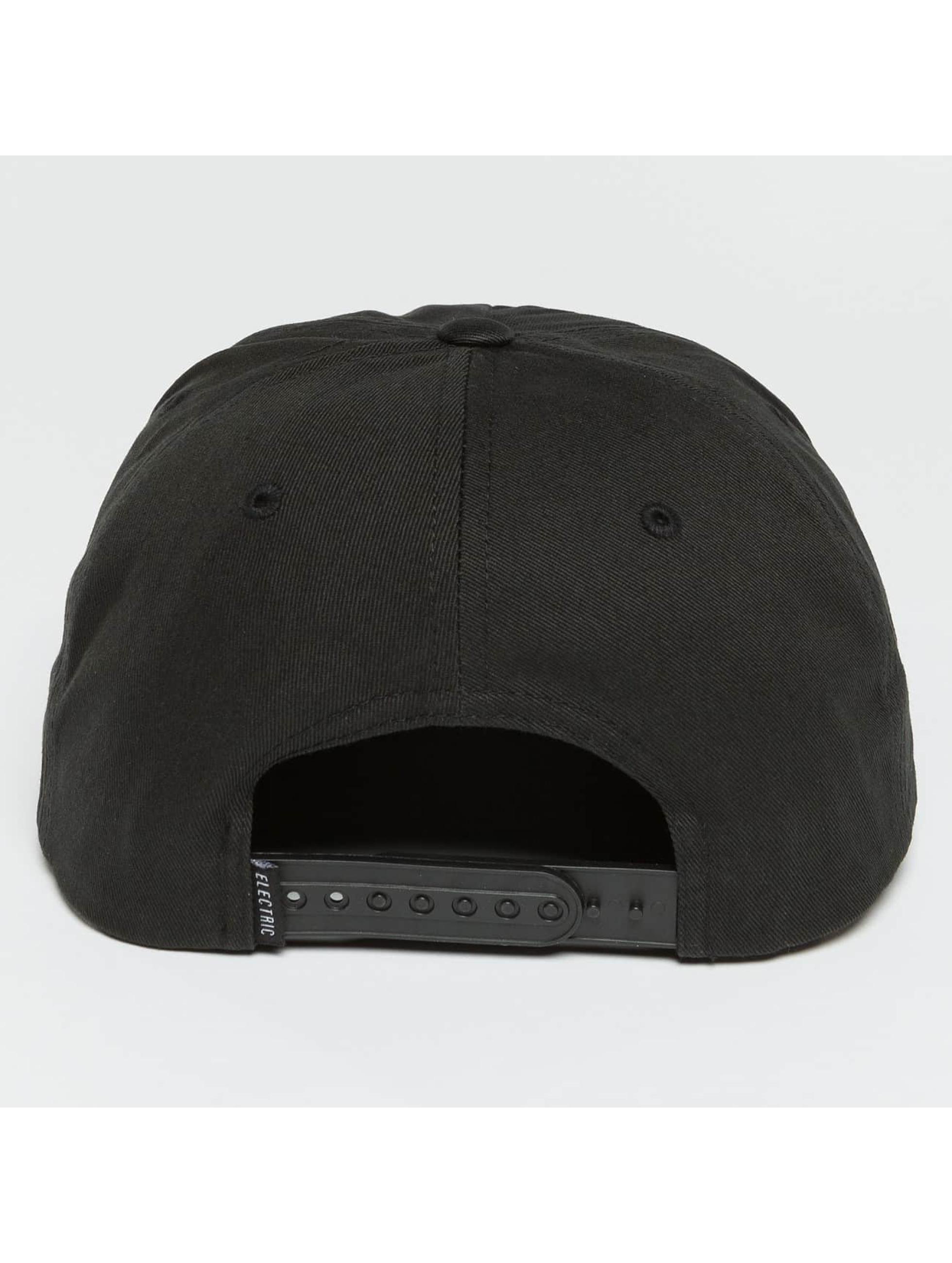 Electric snapback cap NEW UNIFORM zwart