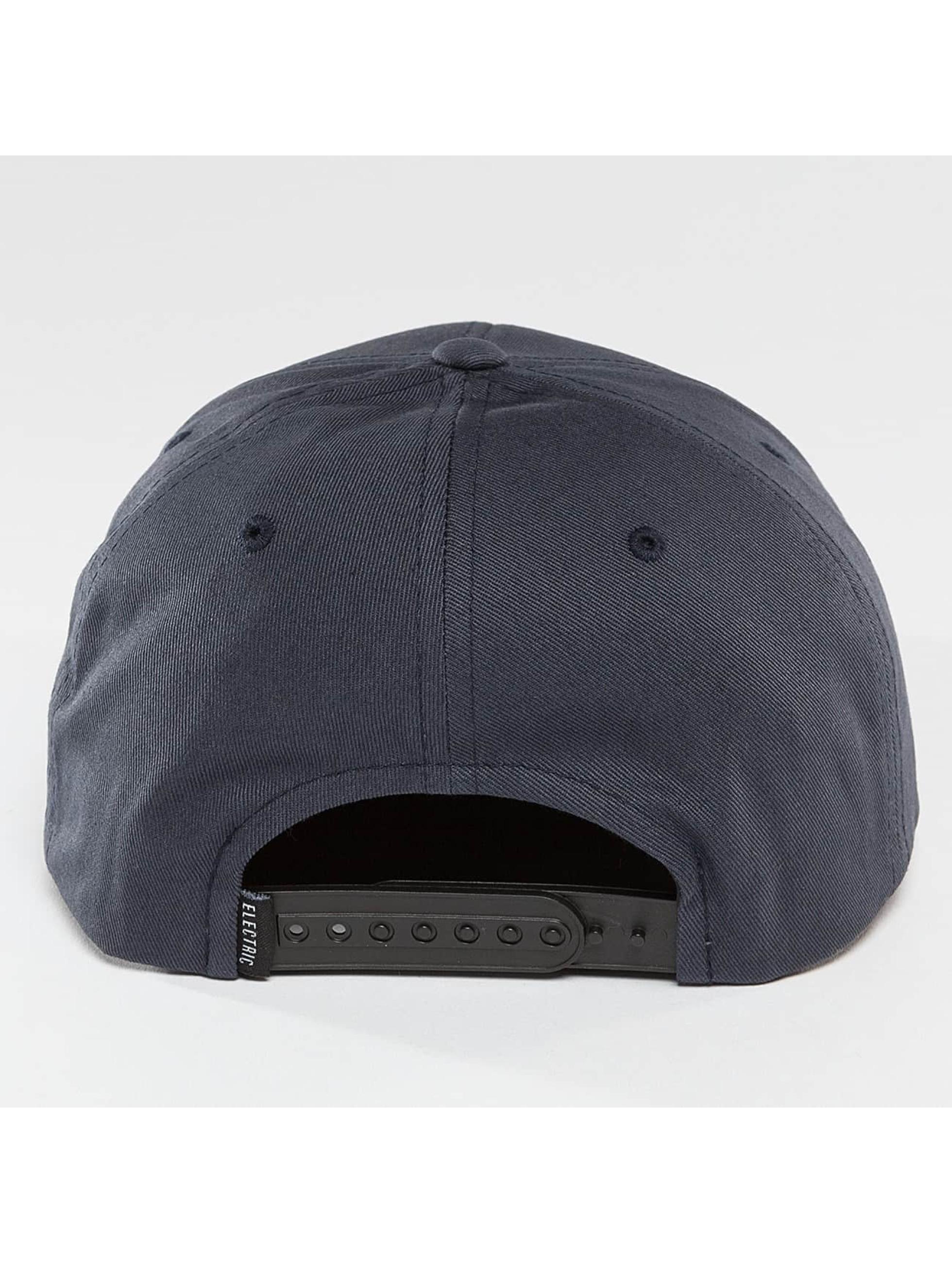 Electric Snapback Caps Rubber Stamp niebieski