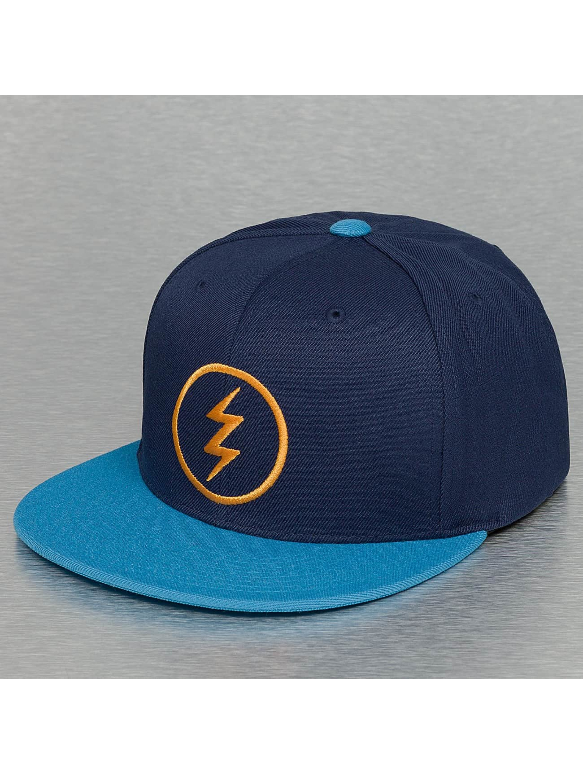 Electric Snapback Caps VOLT sininen
