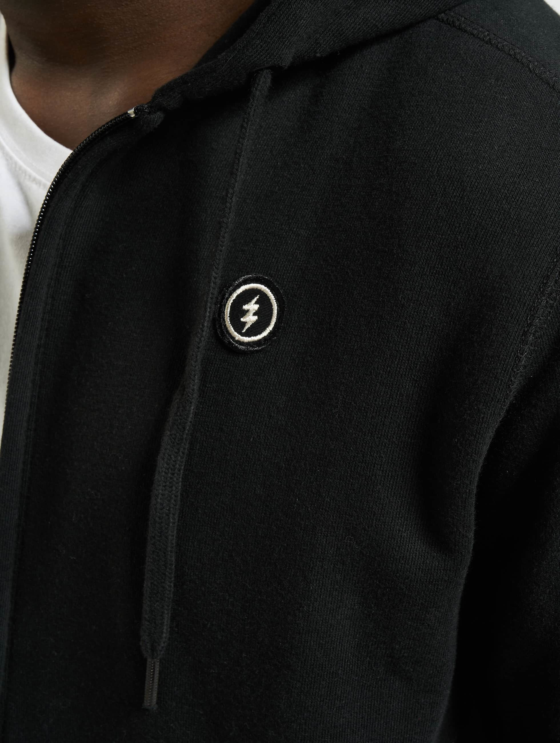 Electric Sweat capuche zippé VOLT noir