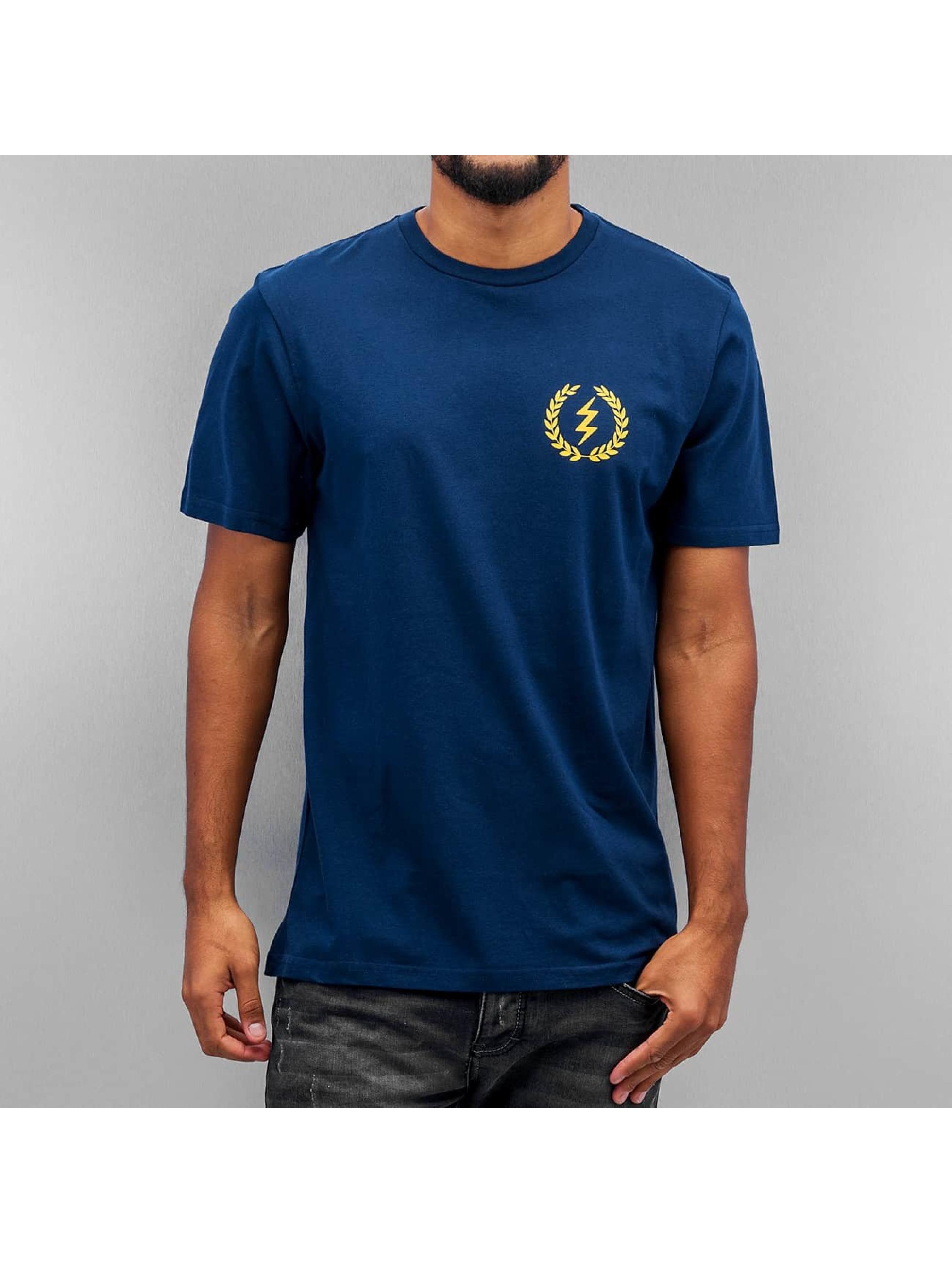 Electric t-shirt VOLT AWARD blauw