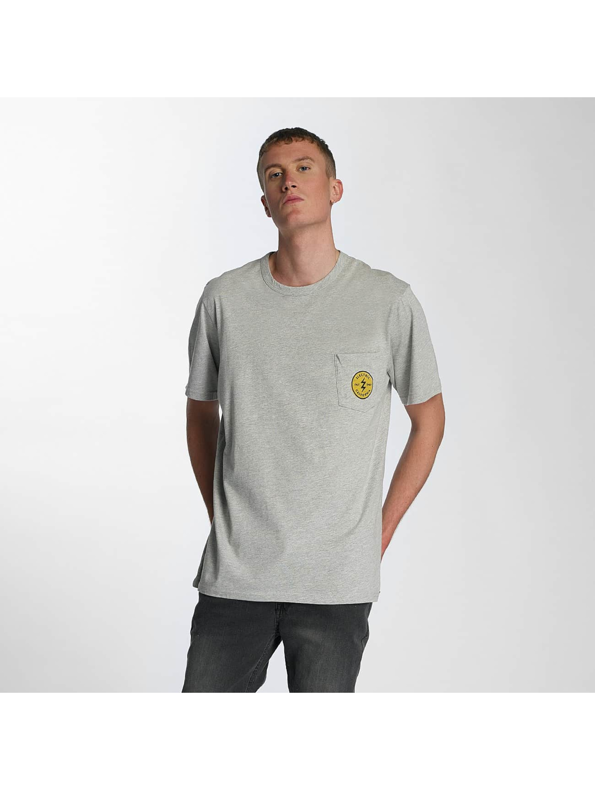 Electric T-Shirt Fast Time Pocket grau