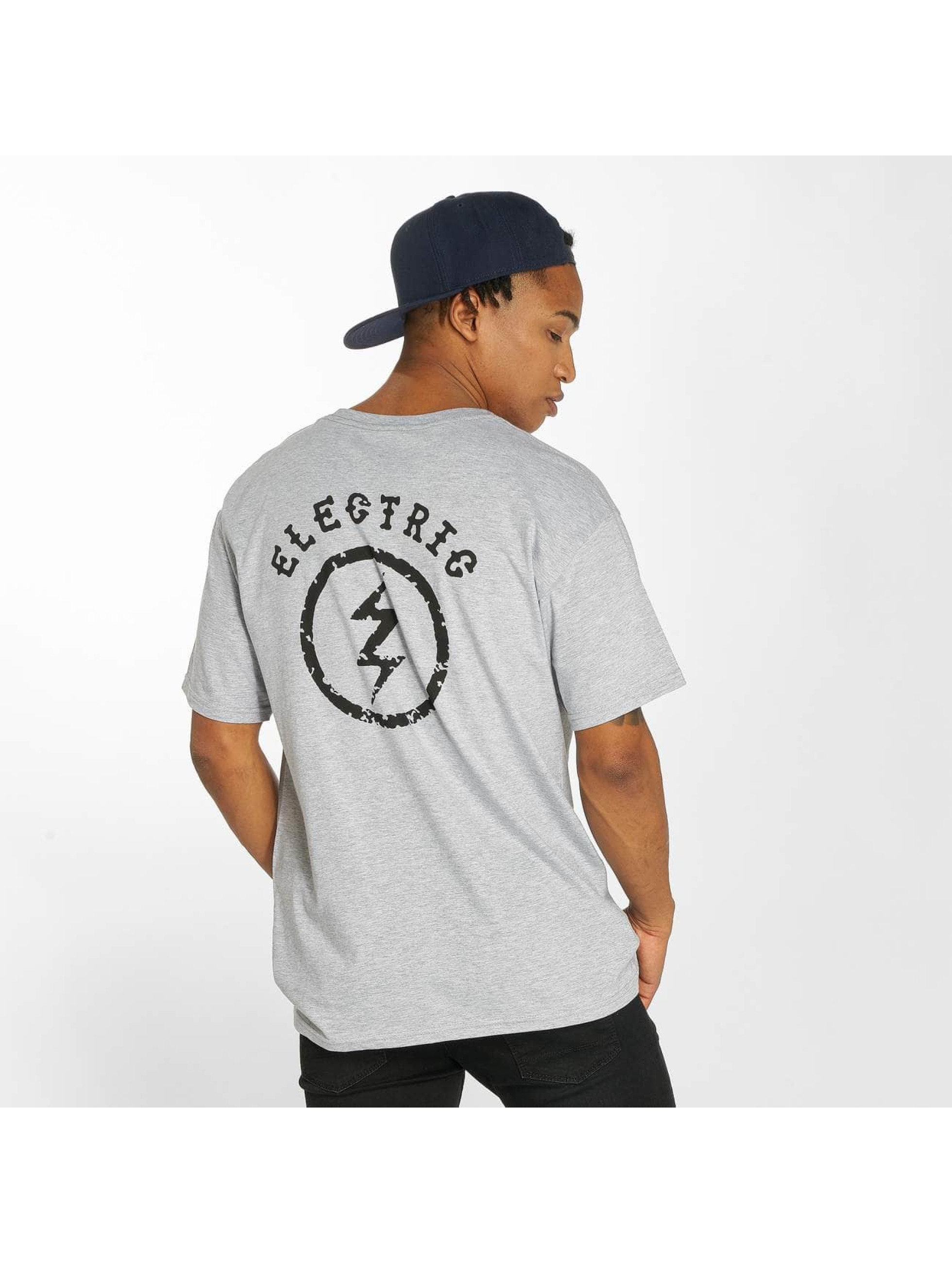 Electric T-Shirt CIRCLE BOLT gris