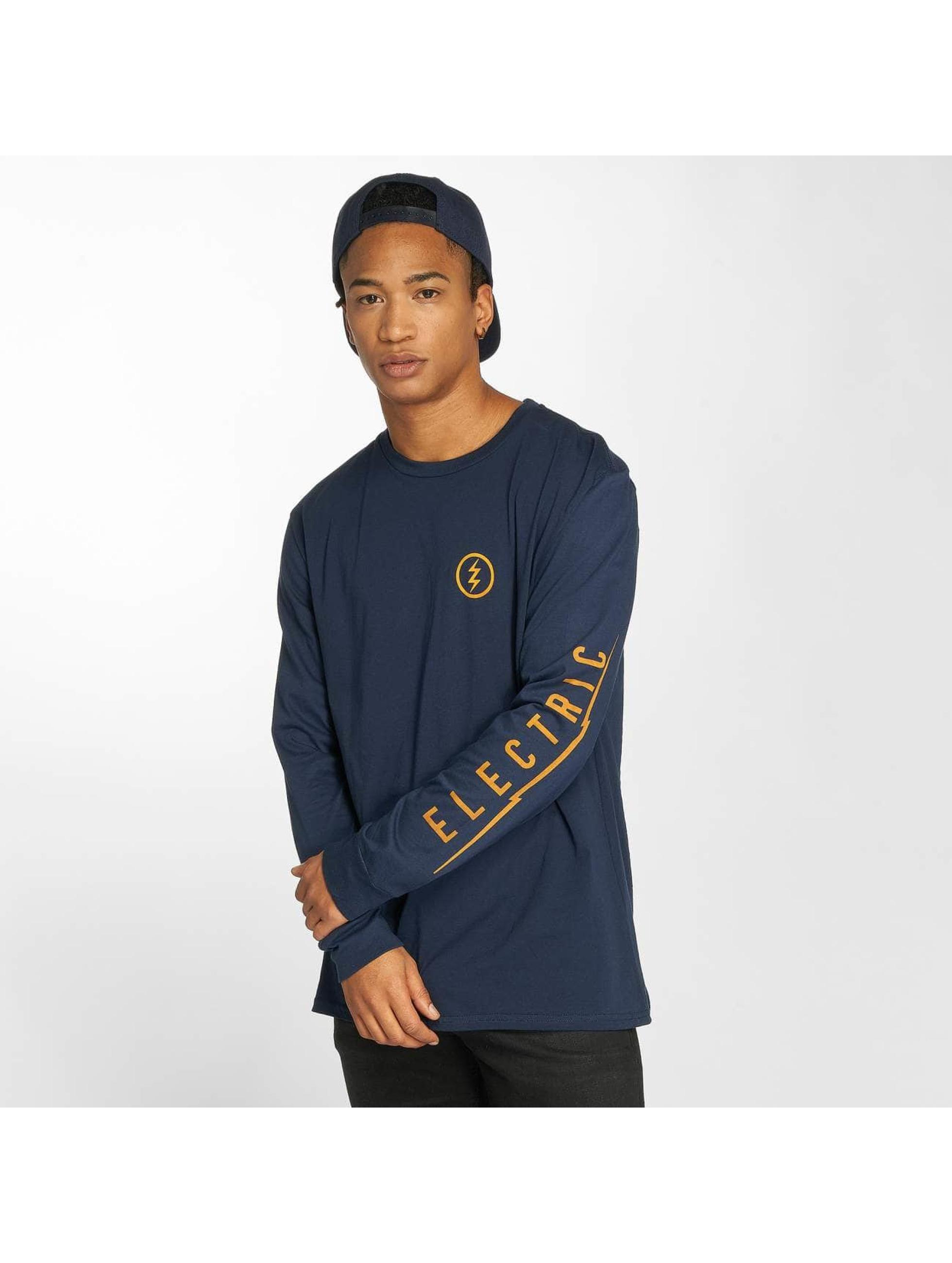 Electric T-Shirt manches longues Icon bleu