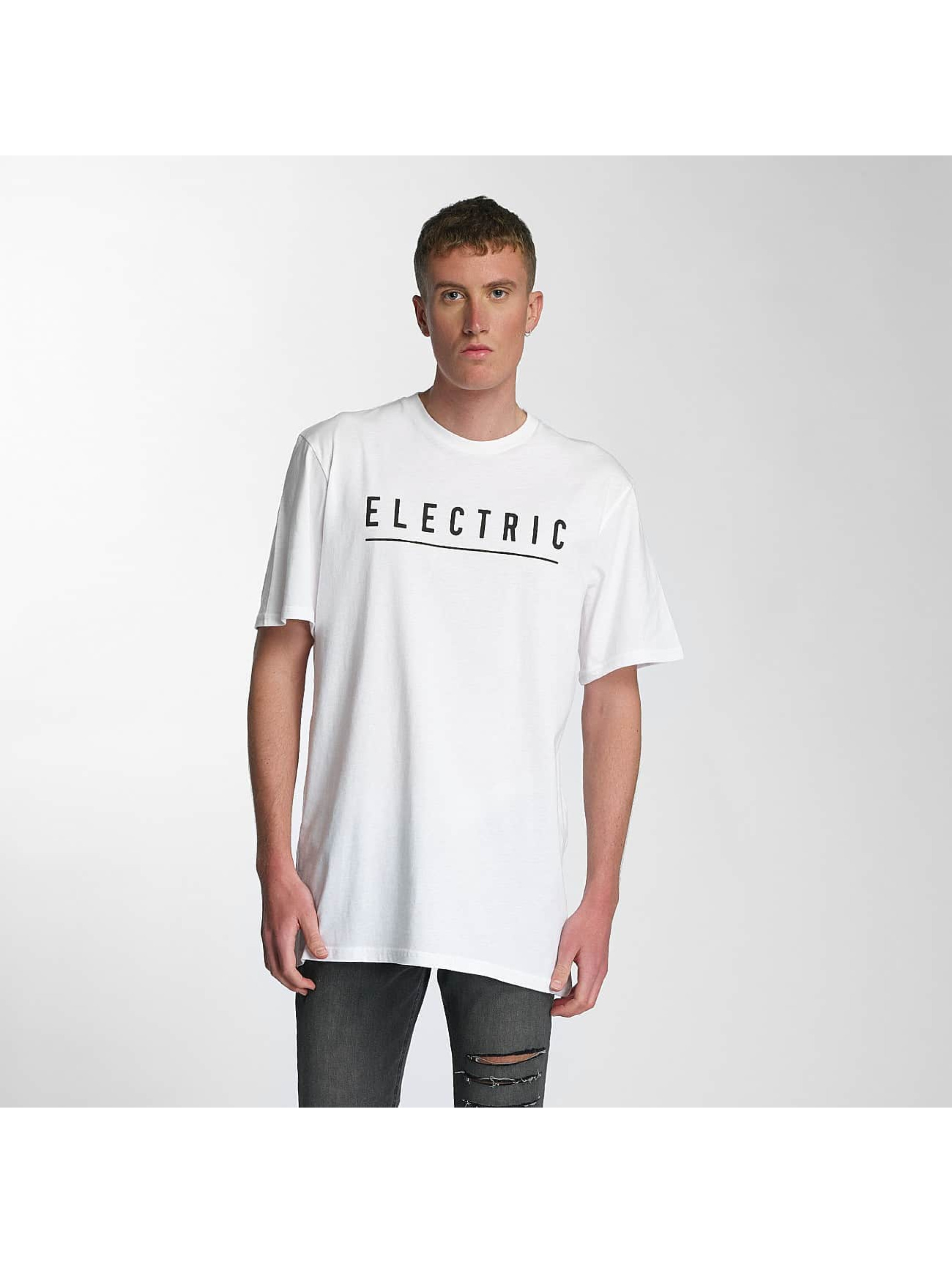Electric T-Shirty Script bialy