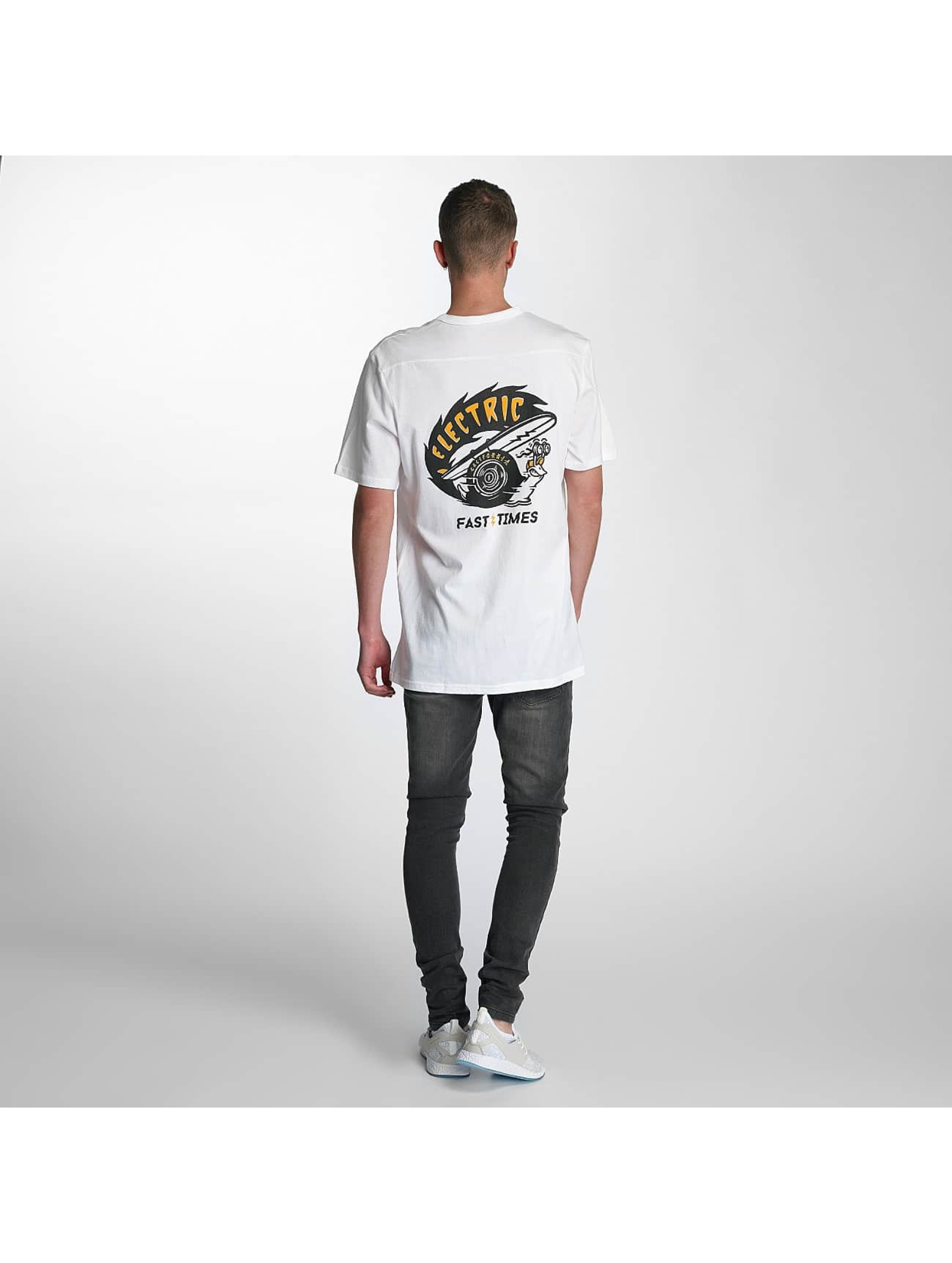 Electric T-Shirty Fast Time Pocket bialy