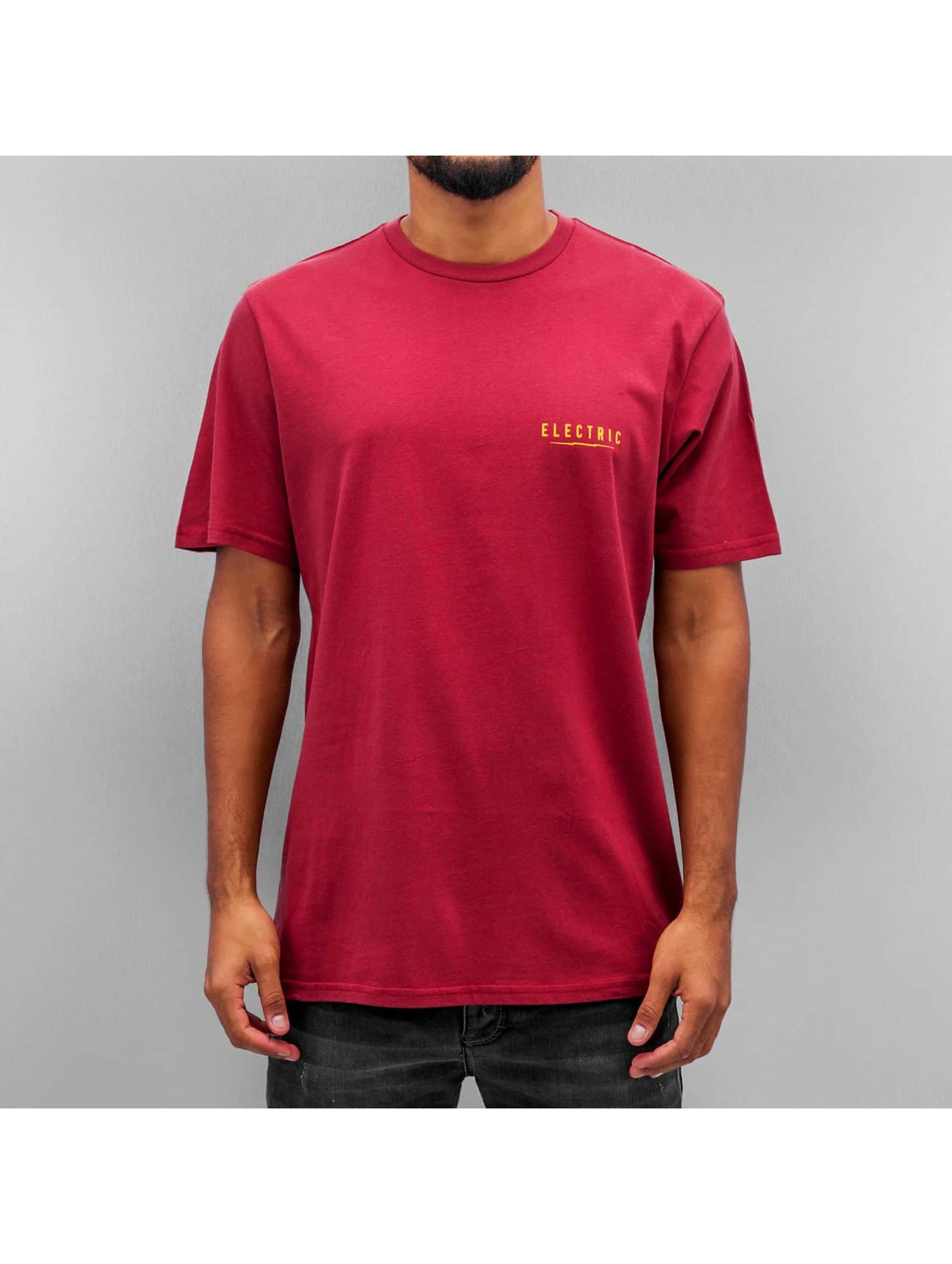 Electric T-Shirty UNDERVOLT II czerwony