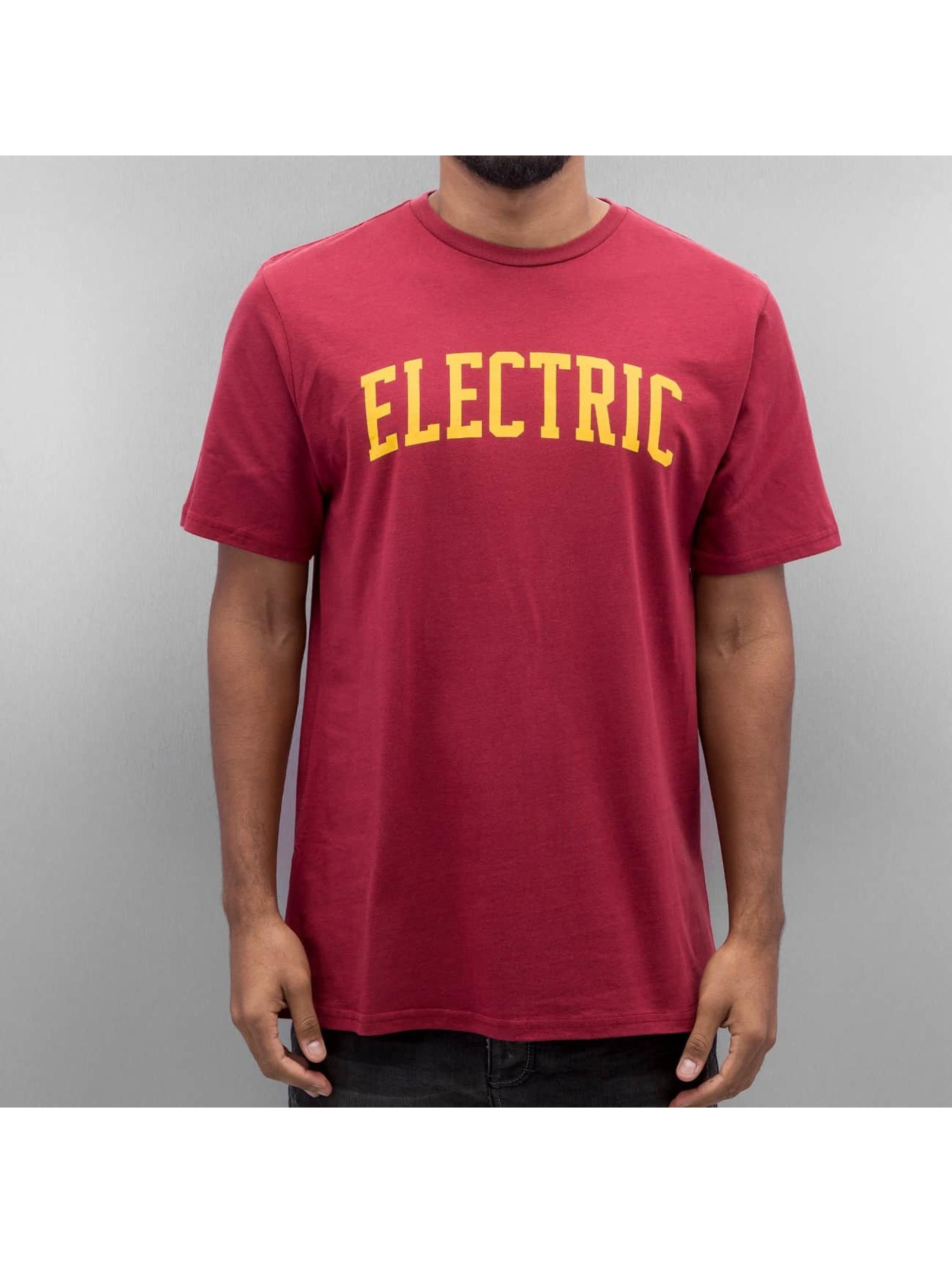 Electric T-Shirty COLLEGE czerwony