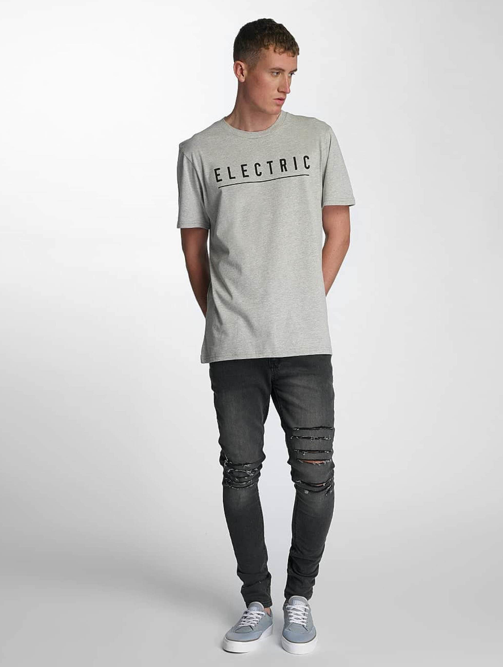 Electric T-Shirty Script szary