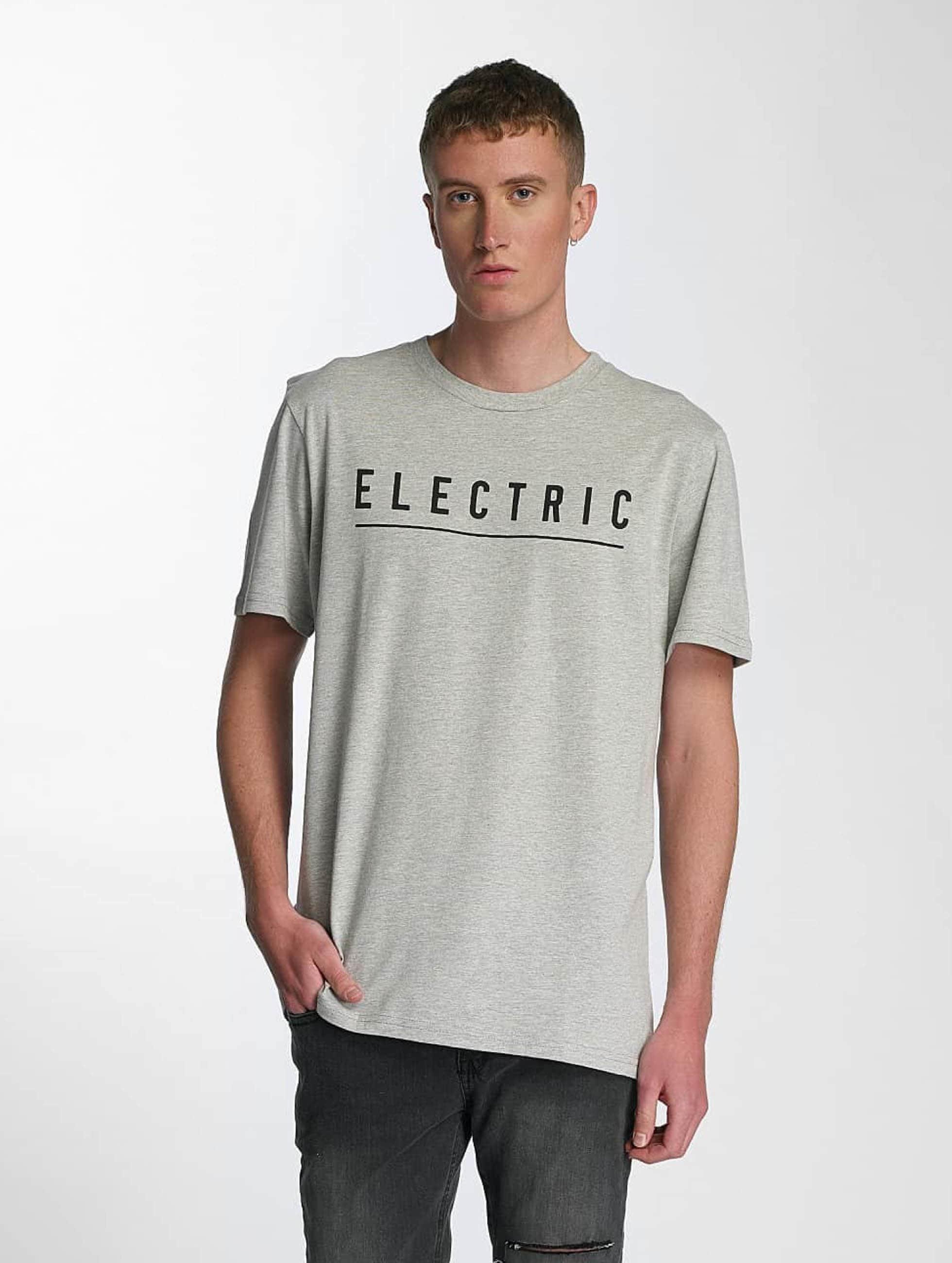 Electric T-skjorter Script grå