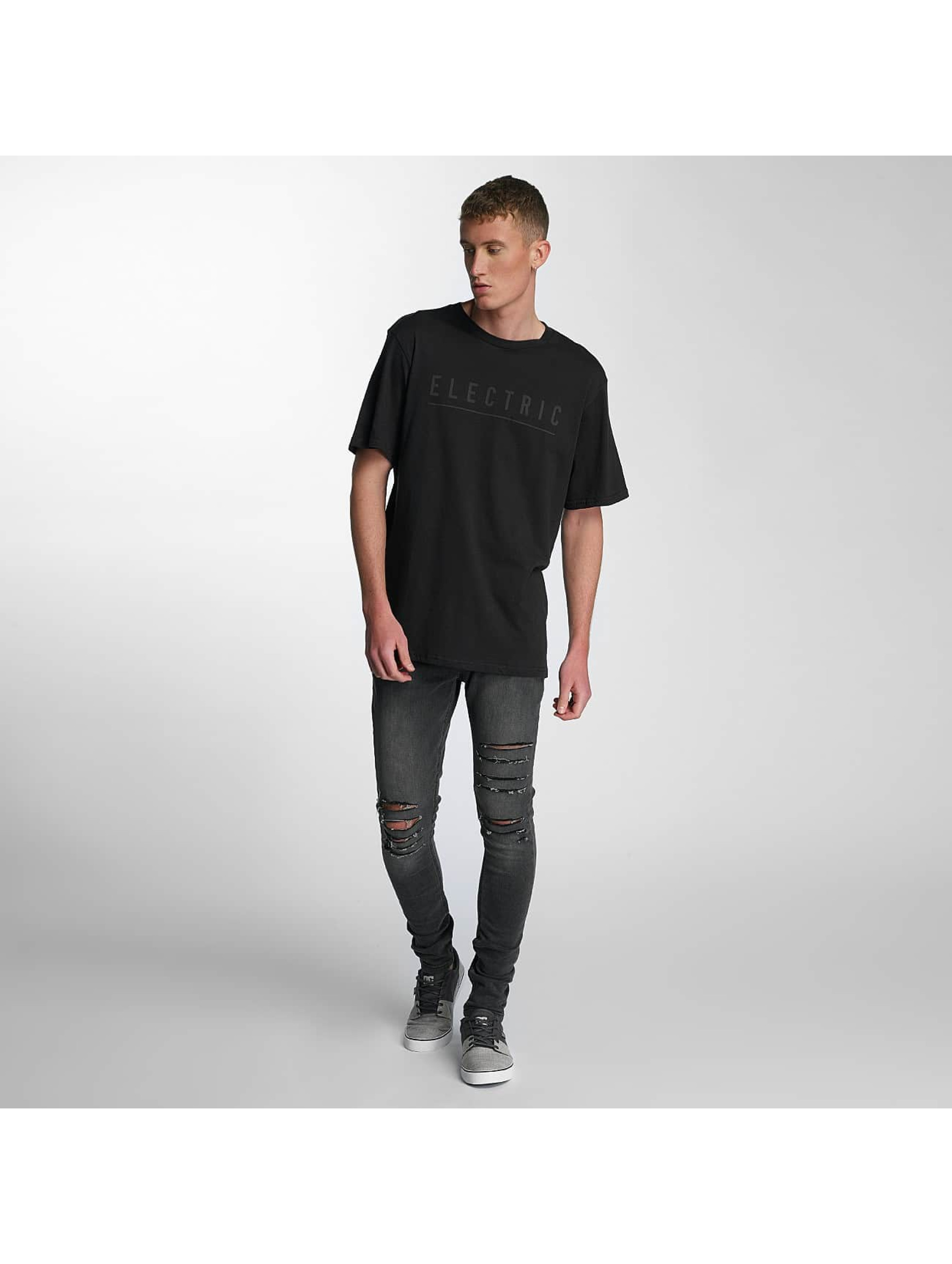 Electric T-skjorter Script svart