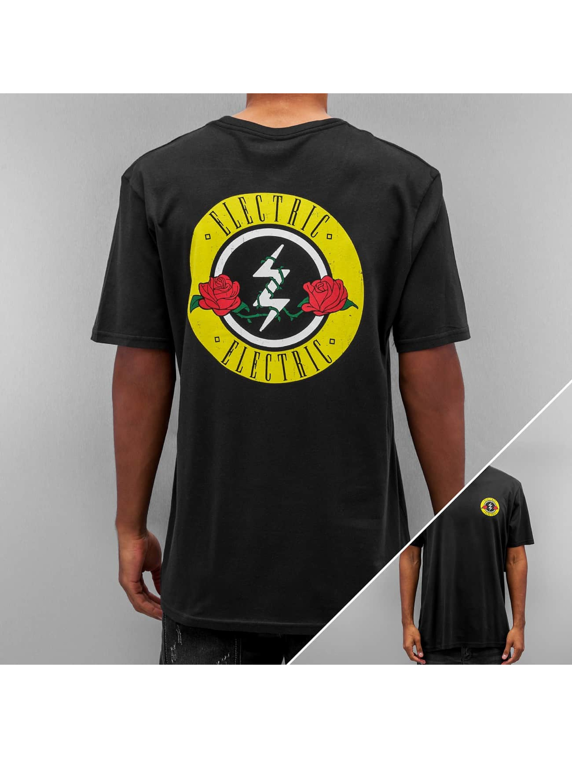 Electric Tall Tees ROSES negro