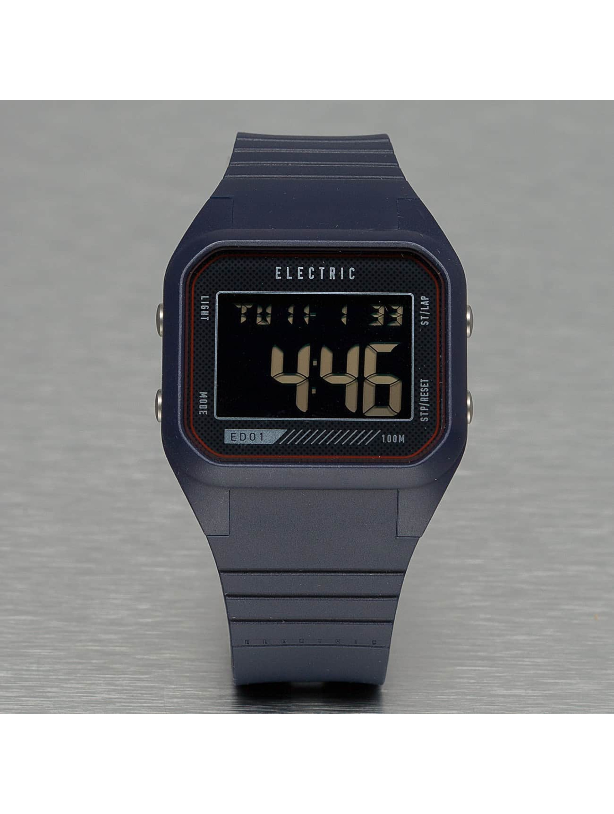 Electric Uhr ED01 PU blau
