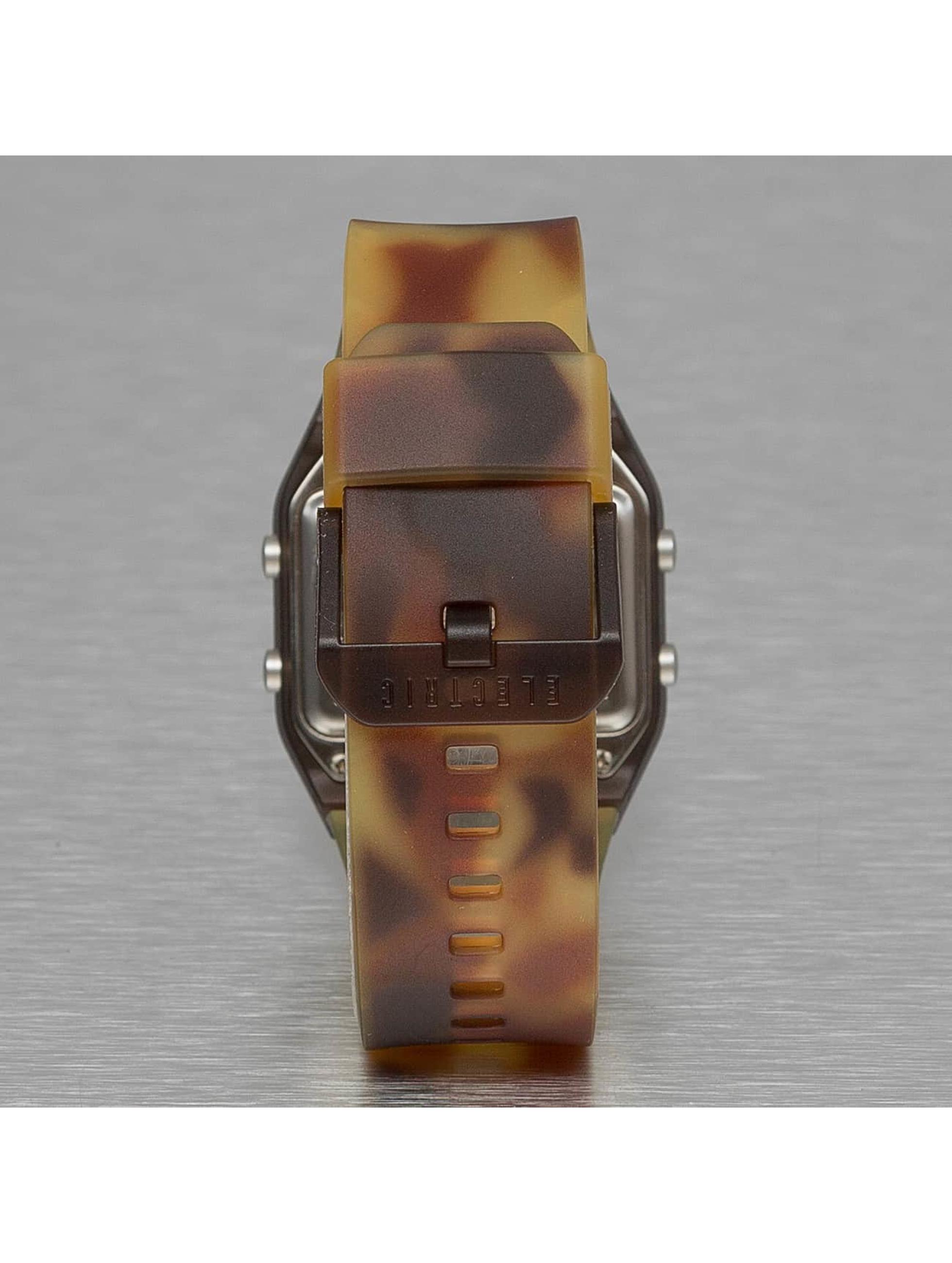 Electric Uhr ED01 PU braun