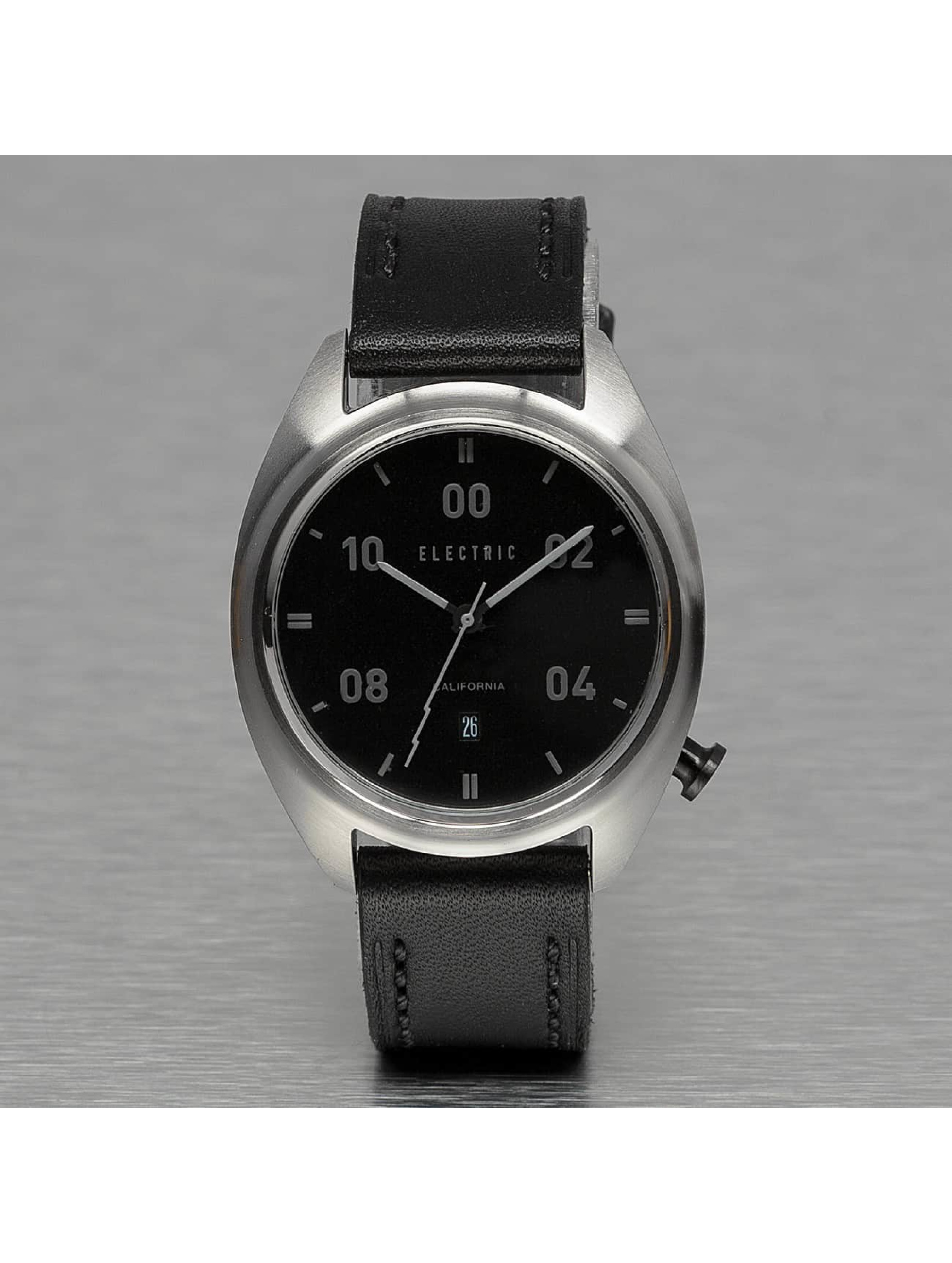 Electric Uhr OW01 Leather schwarz
