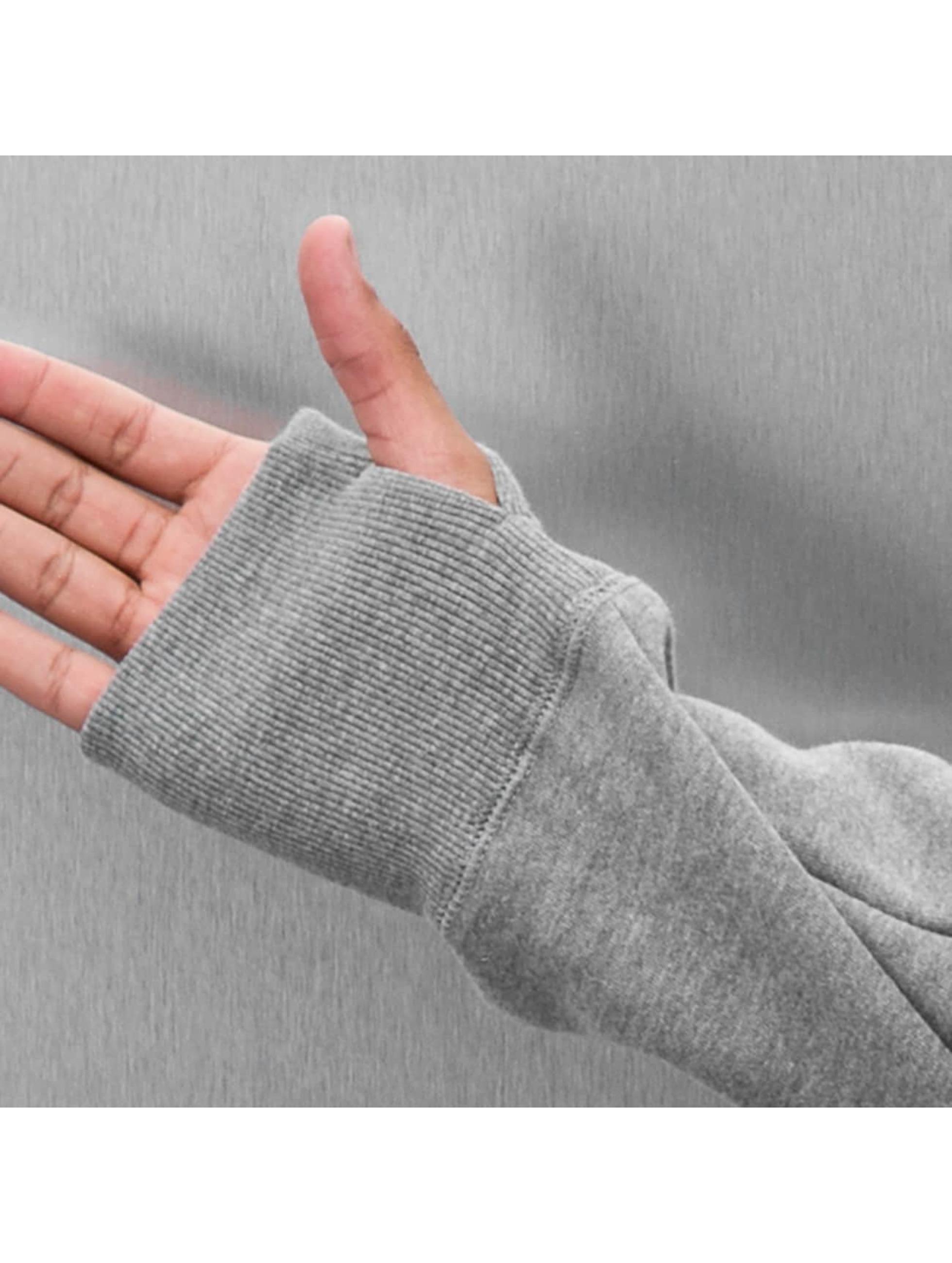 Electric Zip Hoodie VOLT grå