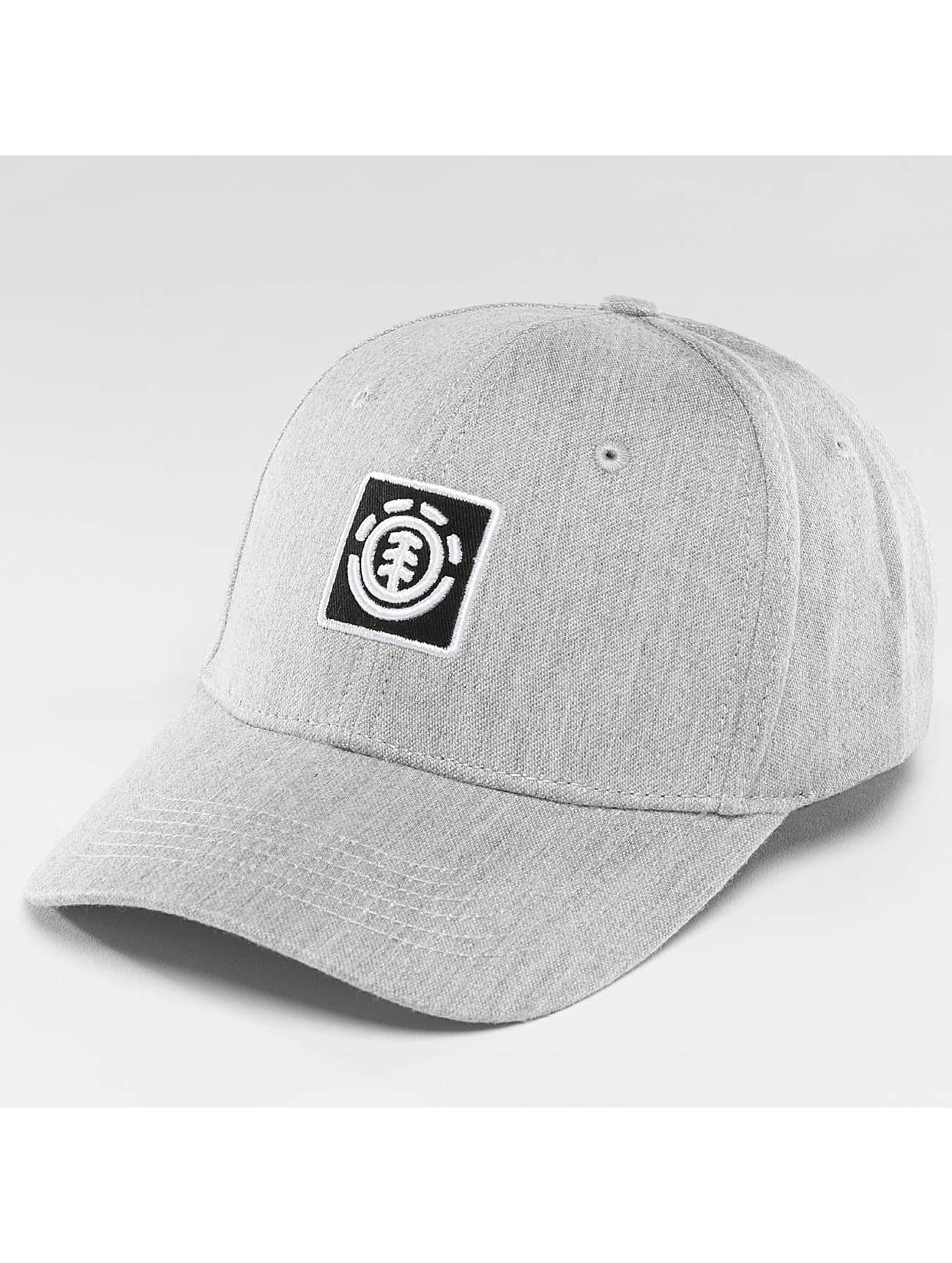 Element Snapback Caps Classic Treelogo szary