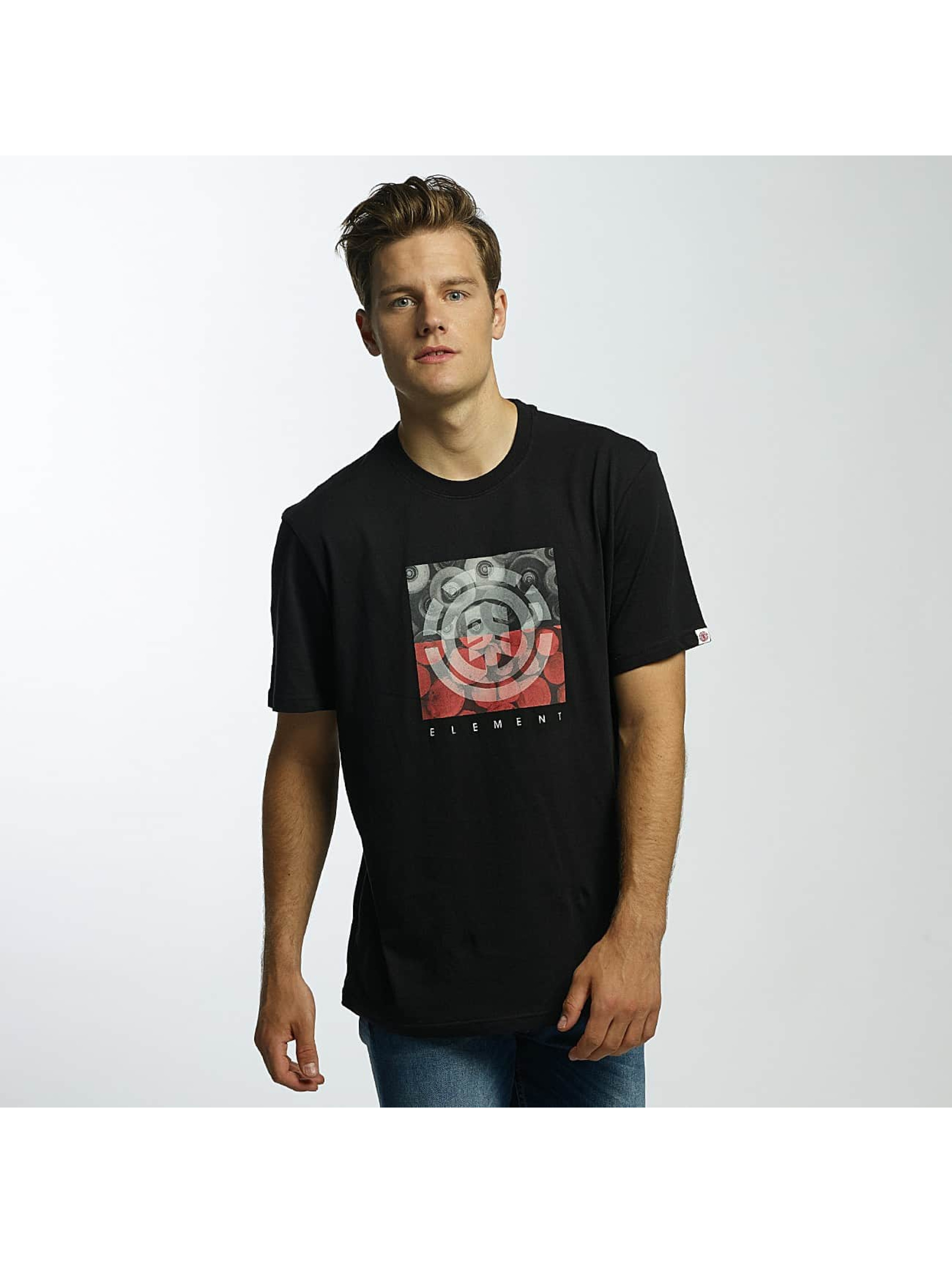 Element T-Shirt Log Jam black