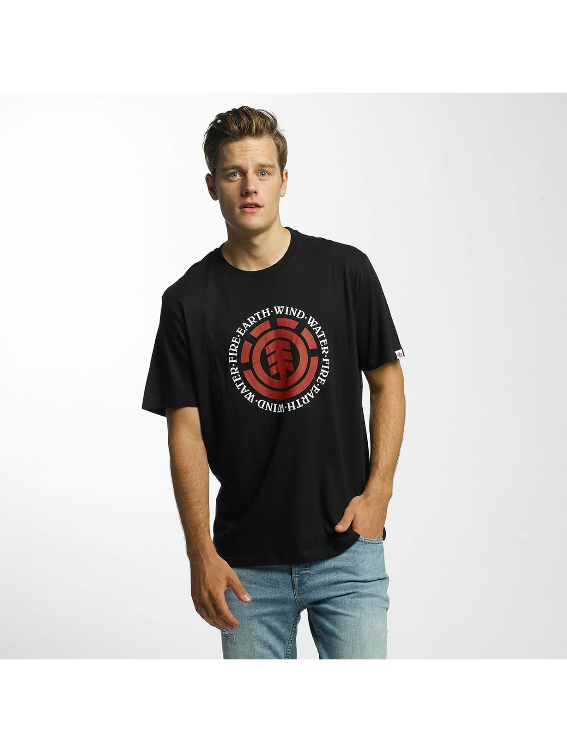 Element T-Shirt Seal schwarz