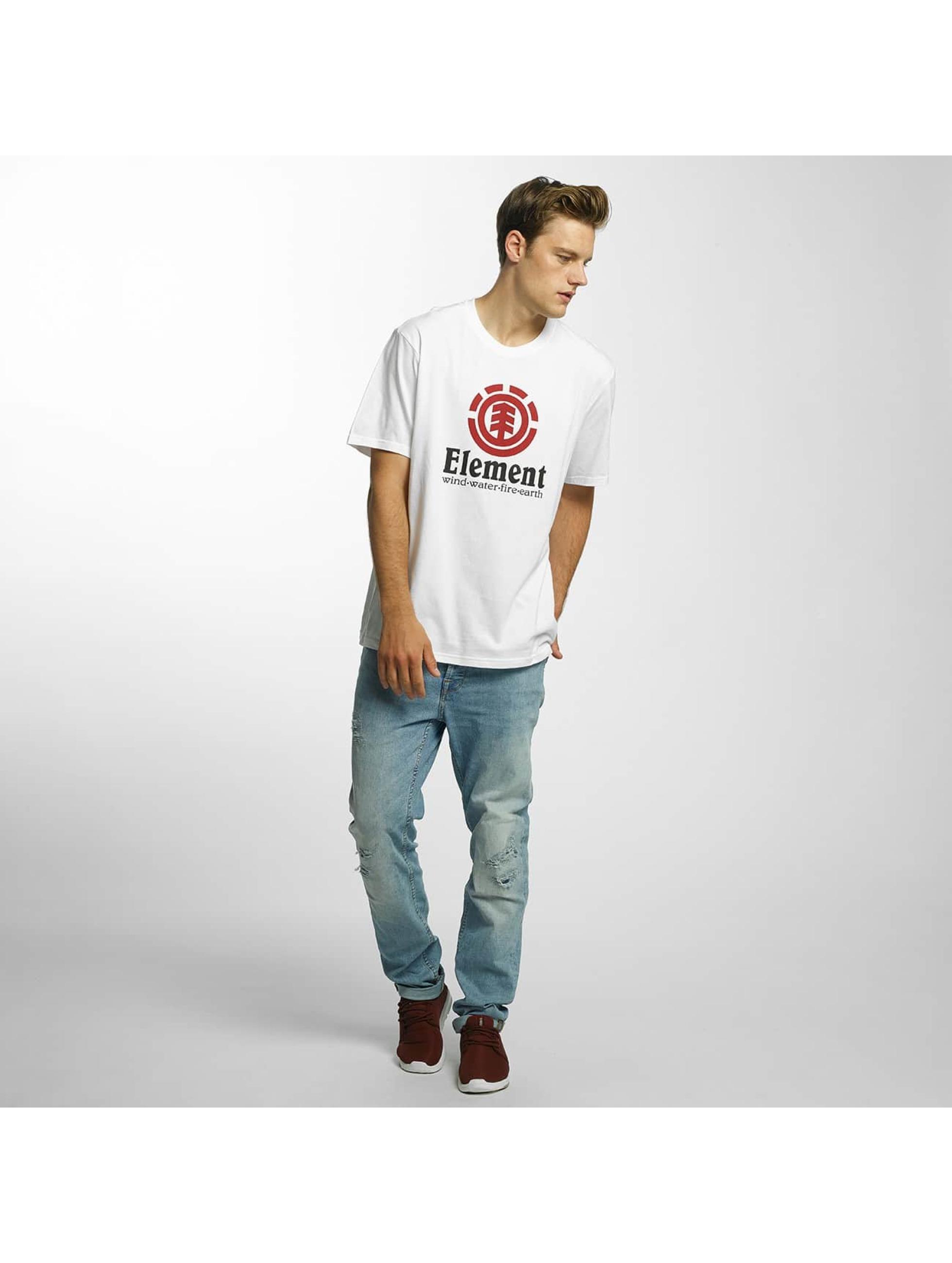 Element T-Shirt Vertical weiß