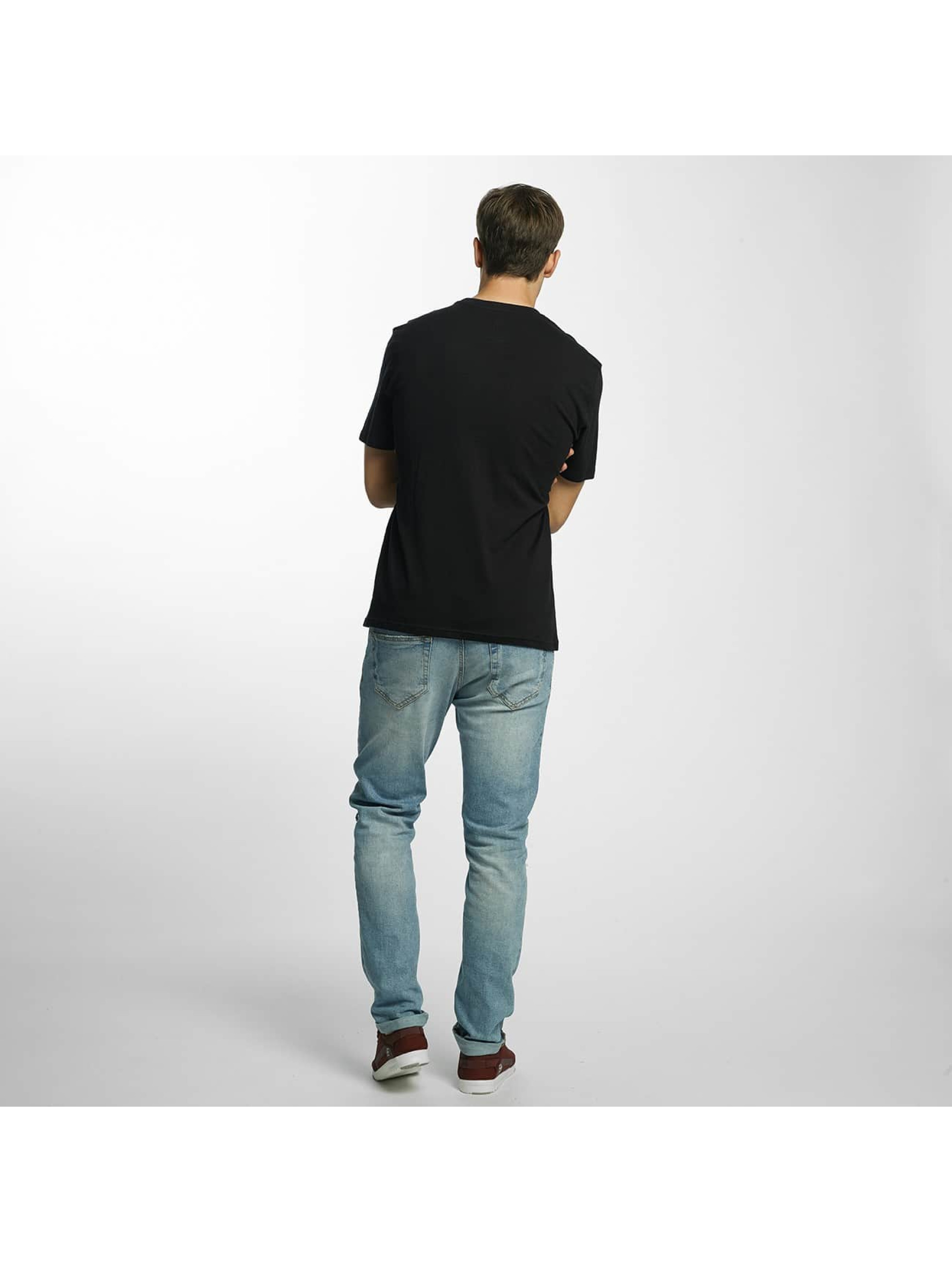 Element T-Shirty Vertical czarny