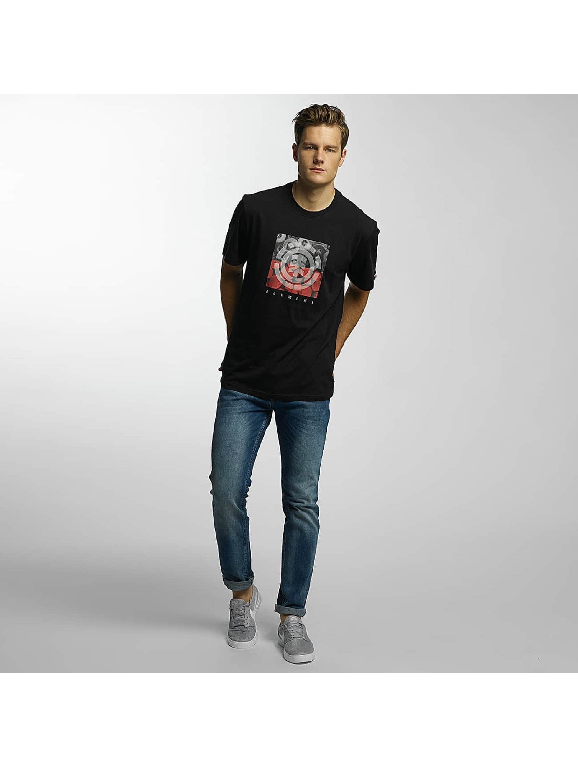 Element T-Shirty Log Jam czarny