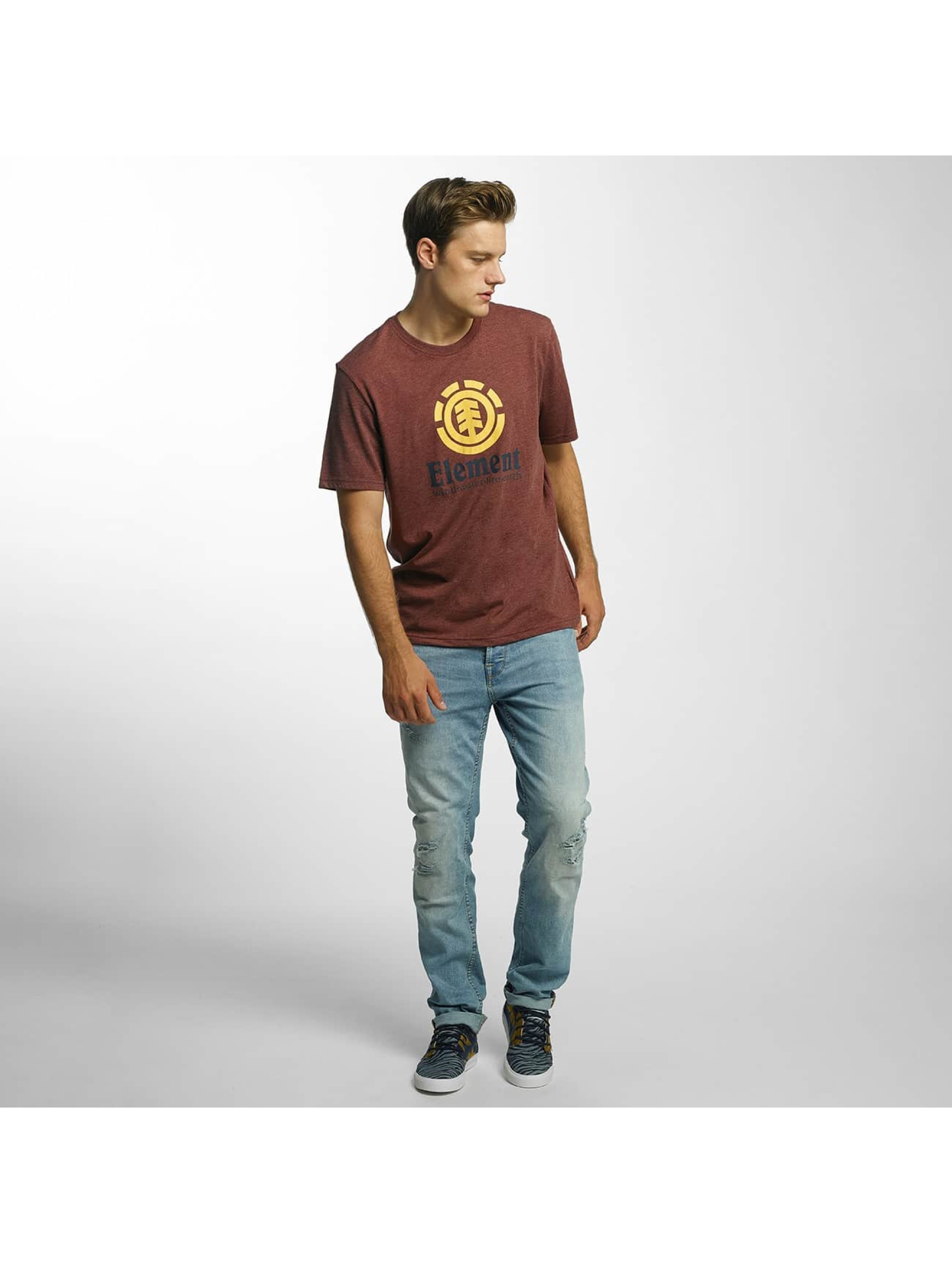 Element T-Shirty Vertical czerwony