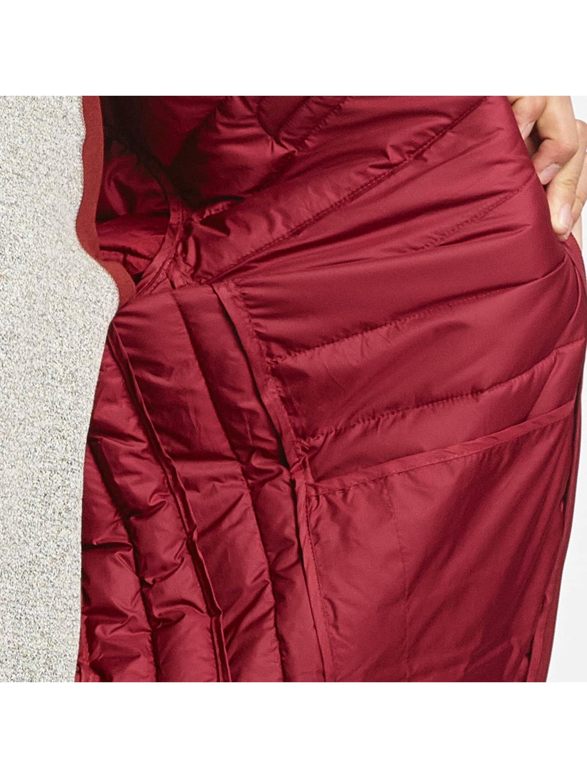 Ellesse Chaqueta de entretiempo Lombardy Padded rojo