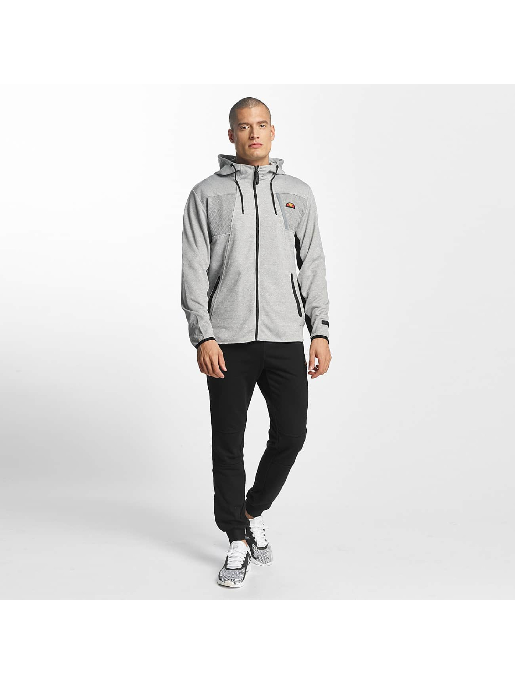 Ellesse Hoodies con zip Sport Inertia Poly Elast grigio